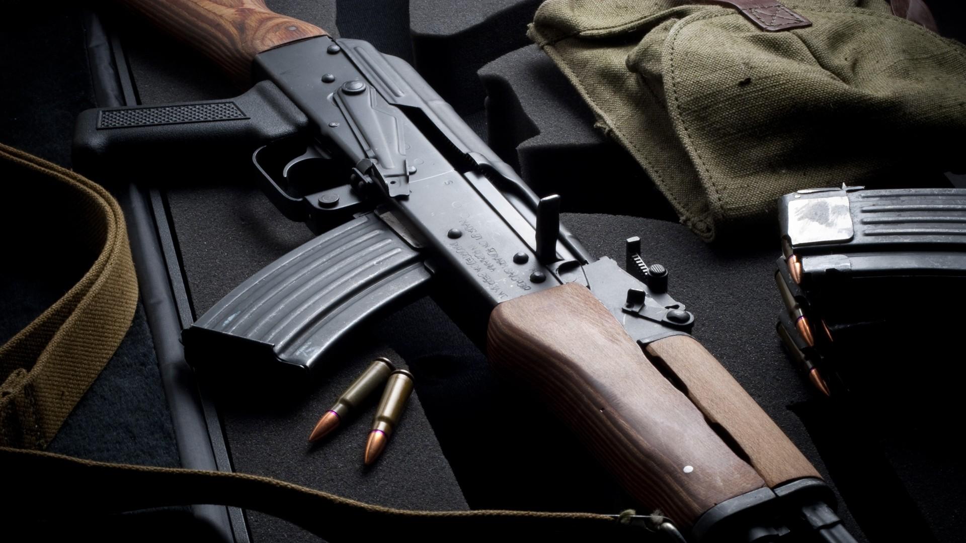 Gun Weapon Military Rifles Handgun Type 56 Kalashnikov Firearm Accessory