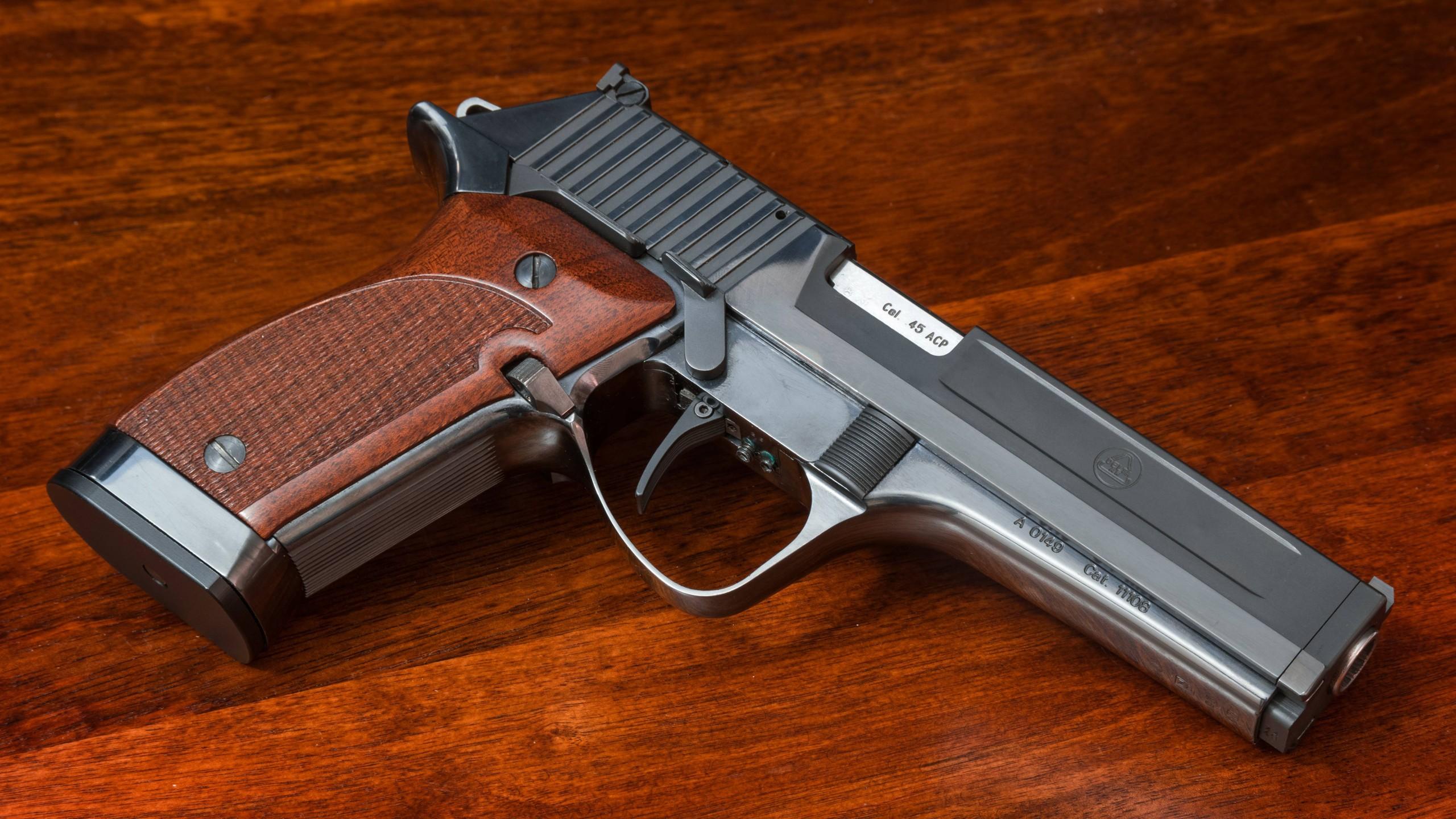 デスクトップ壁紙 武器 ピストル ショットガン 拳銃 45 Acp