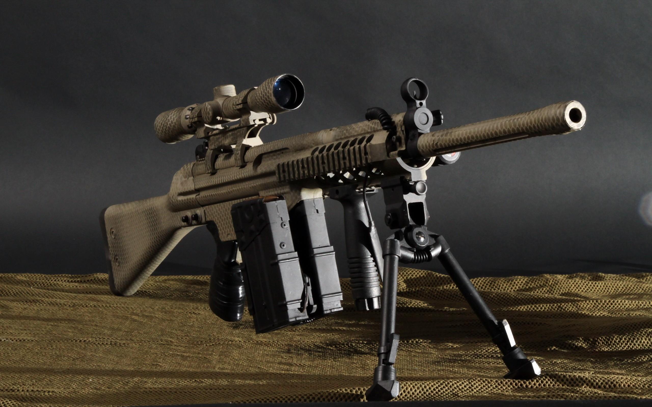 Wallpaper Weapon Soldier Sniper Rifle Marksman Machine