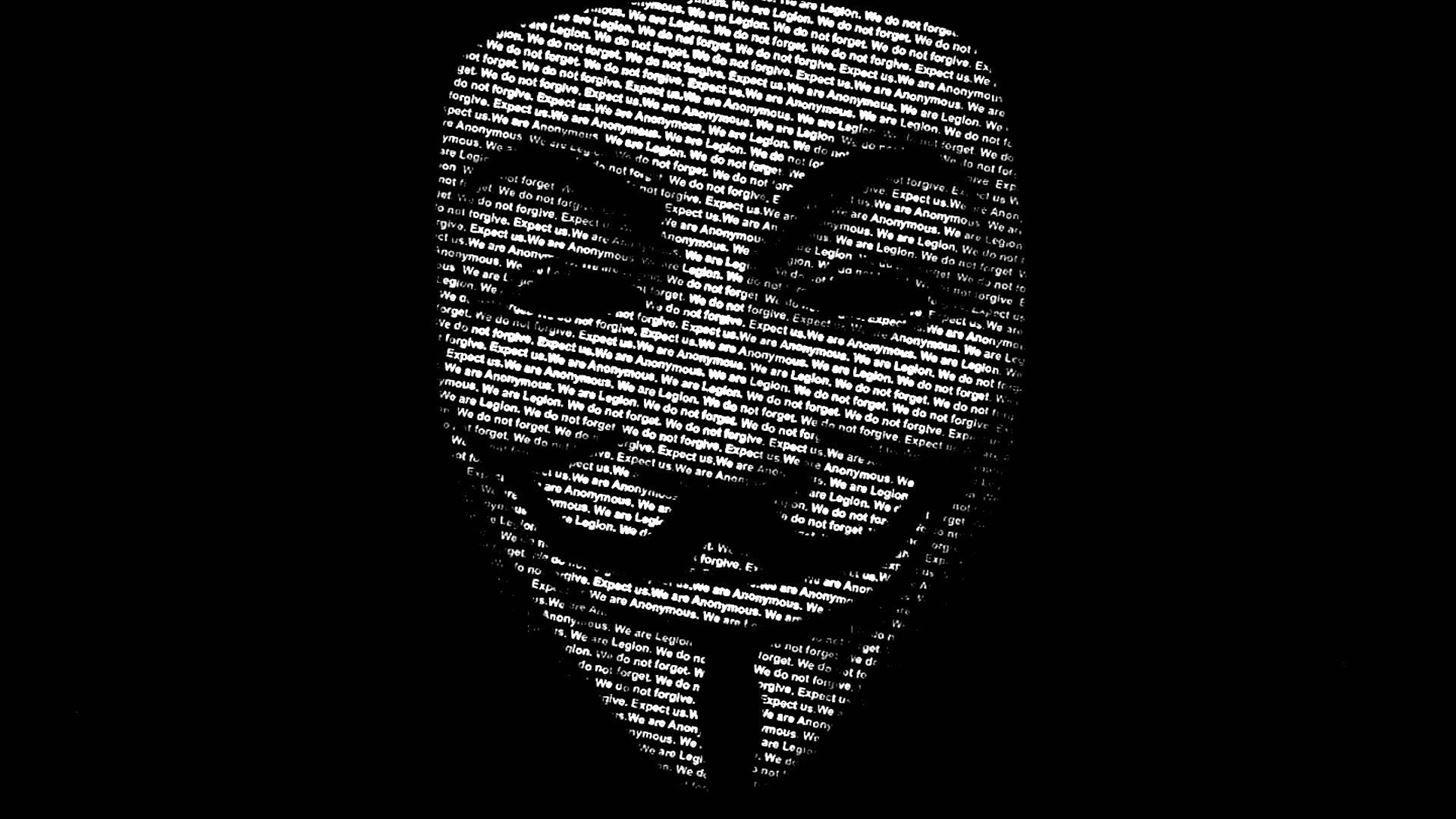 Wallpaper Hackers Black Anonymous 1456x819 Thiadeon 1888699 Hd Wallpapers Wallhere