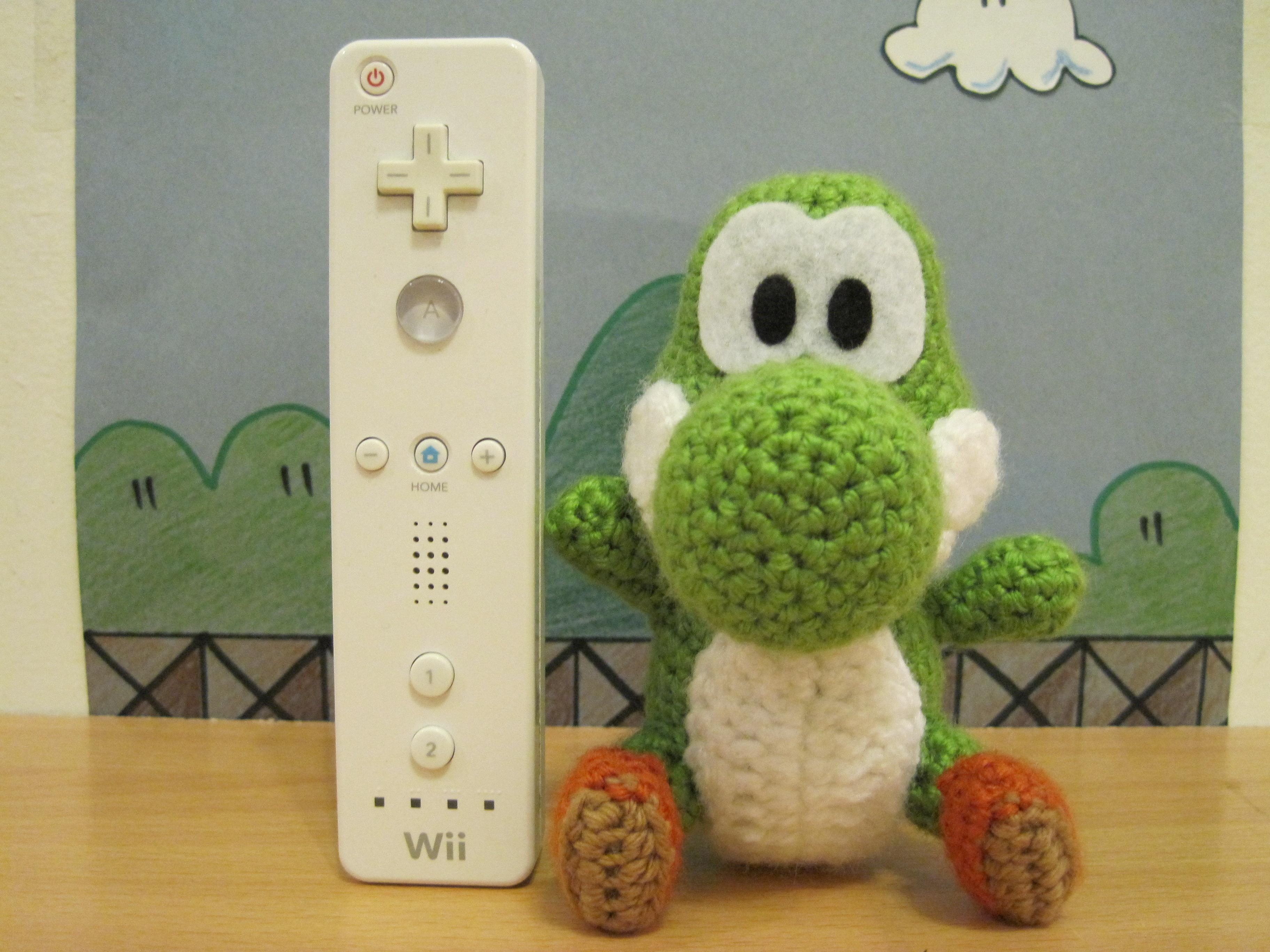 Amigurumi Nintendo Mario Game Character Yoshi with Free Online ... | 2736x3648