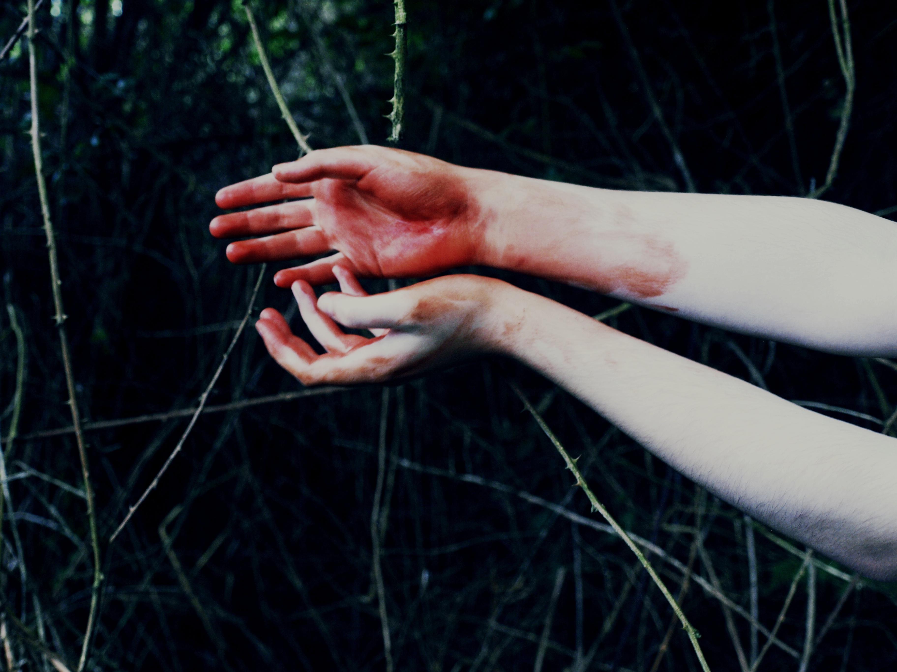 Картинки кровь на руках