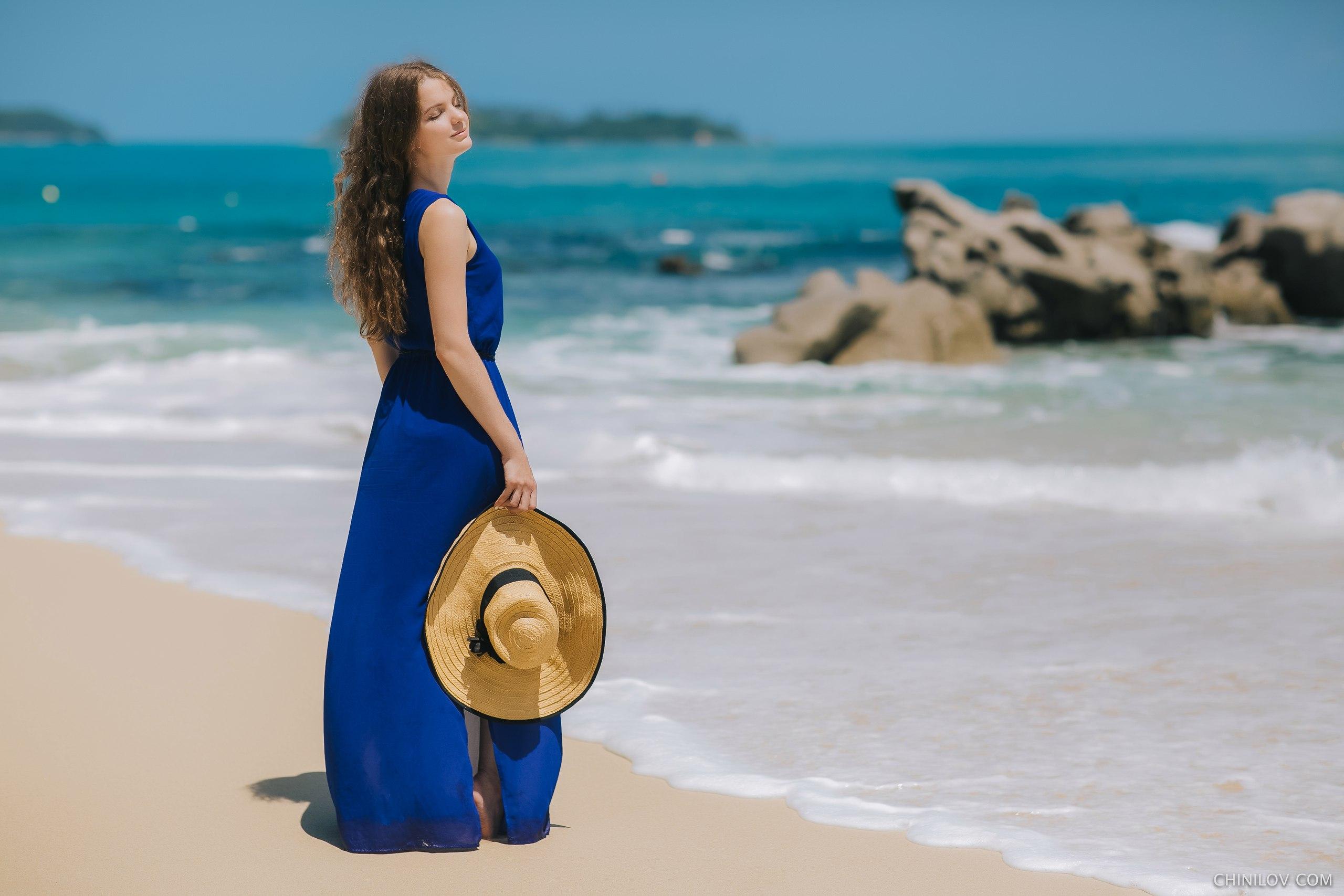 Mujeres fondo de pantalla playa