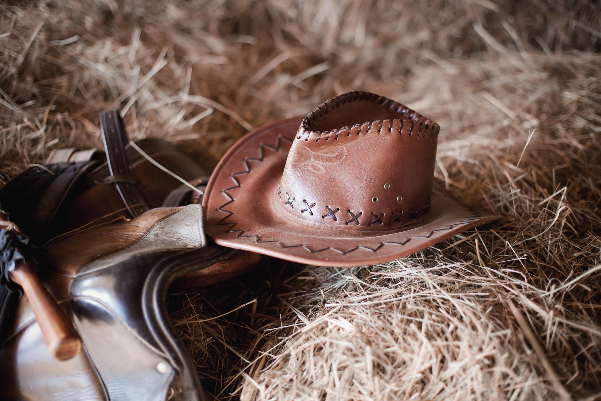 Американка в ковбойской шляпе картинки