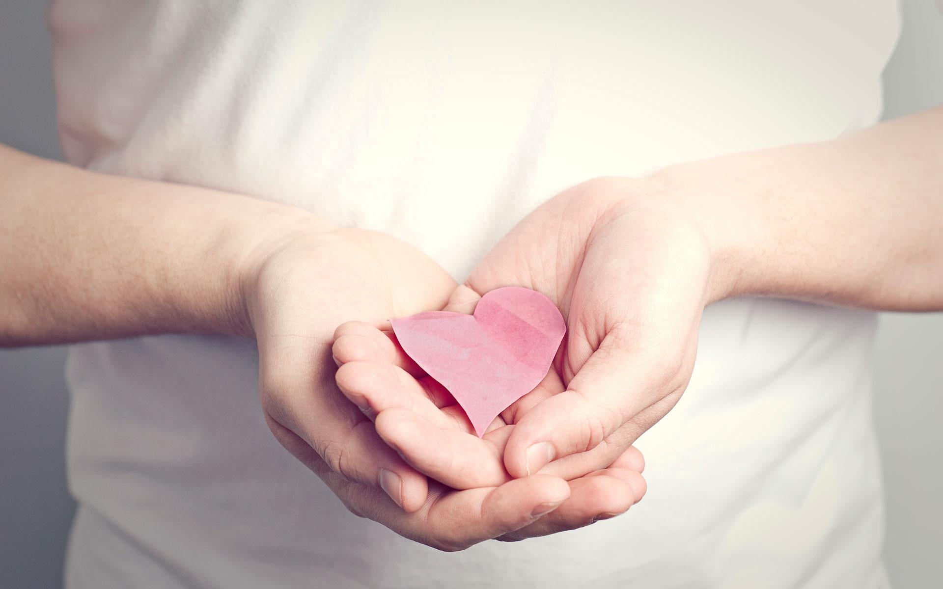 этом сердце в ладошках фото соединяются болтах, быстро
