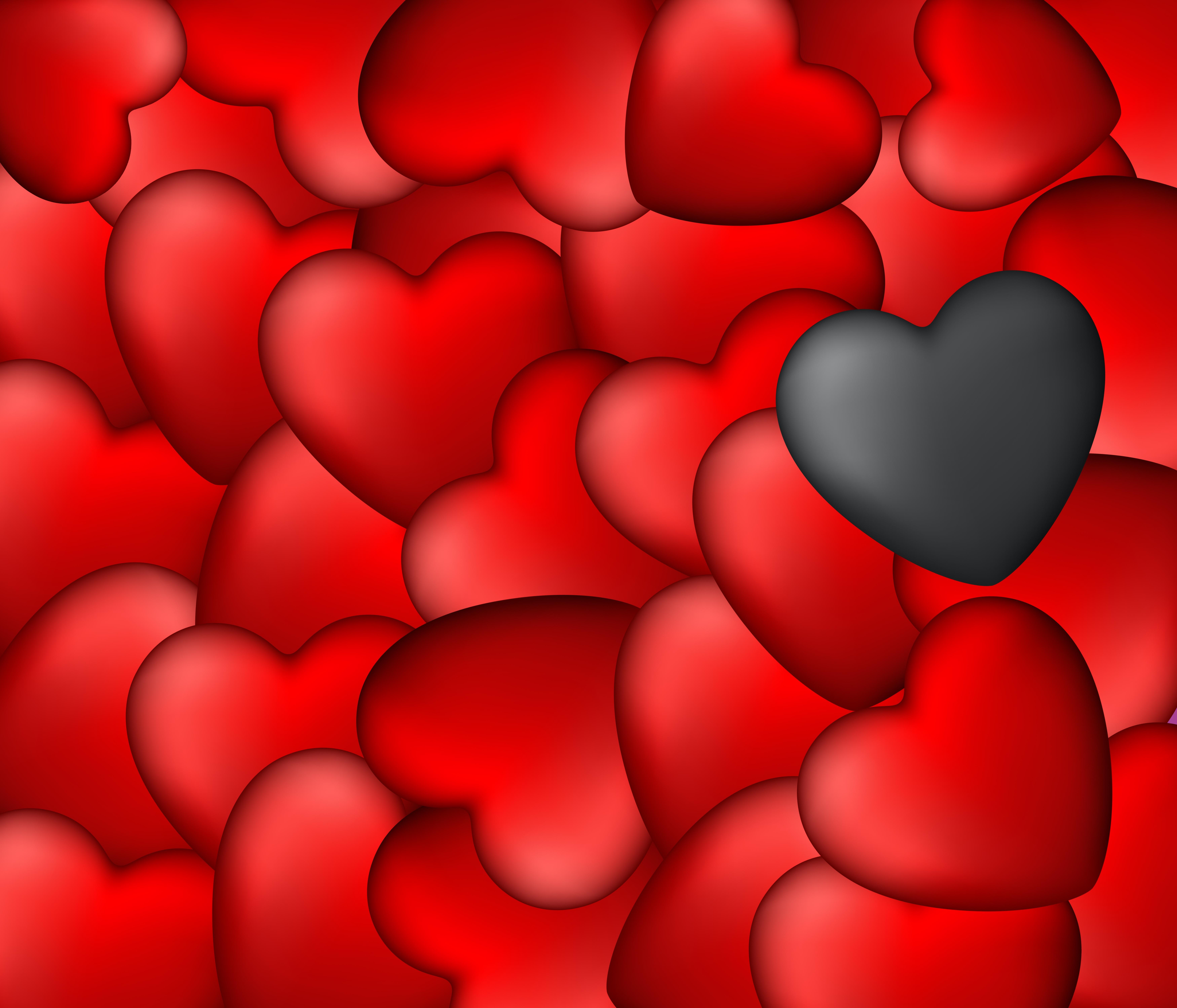 красивая картинка на красном фоне сердечек особая разновидность открытогопирога