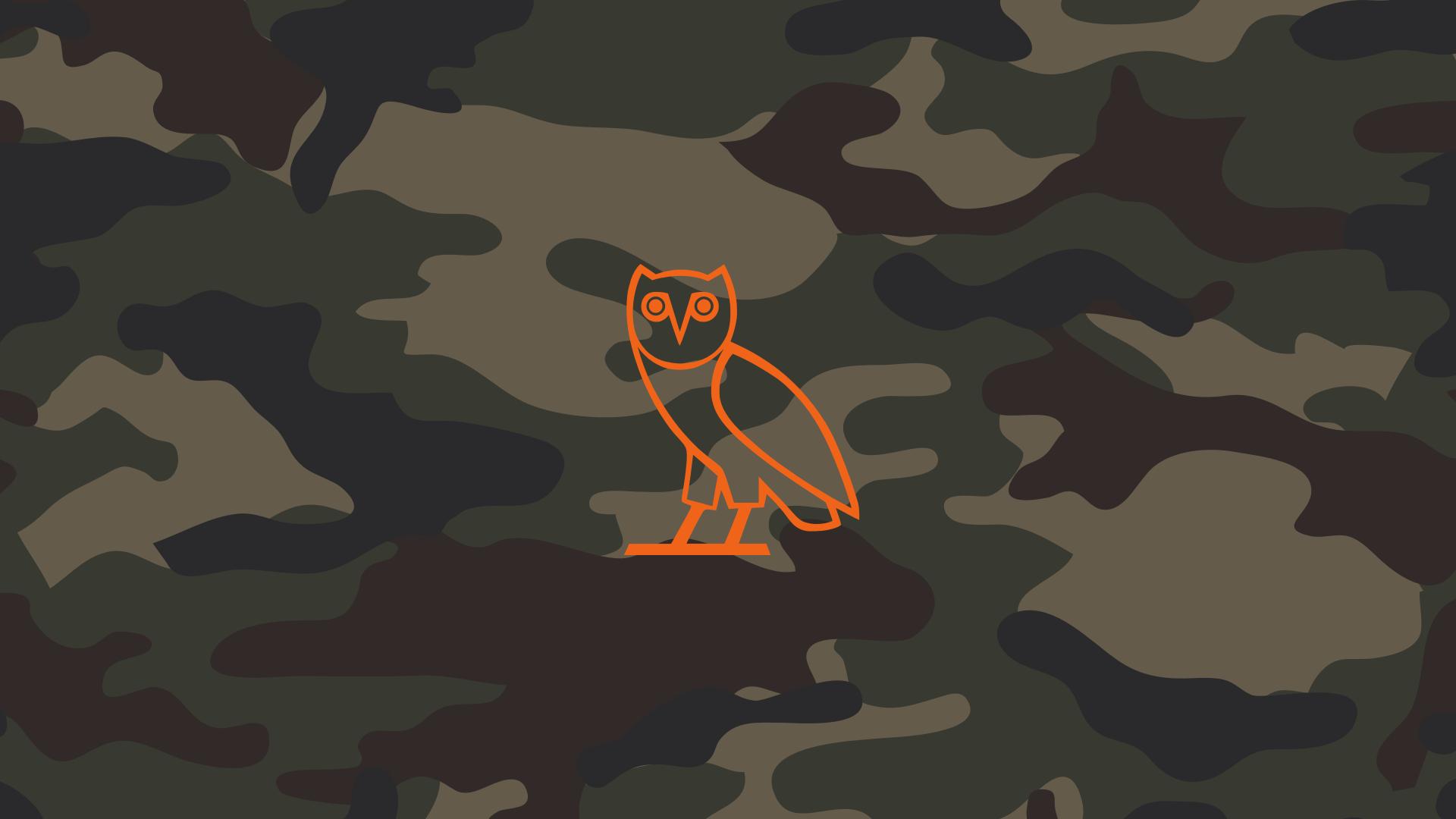 Hip Hop Woodland Camouflage OVO OVOXO