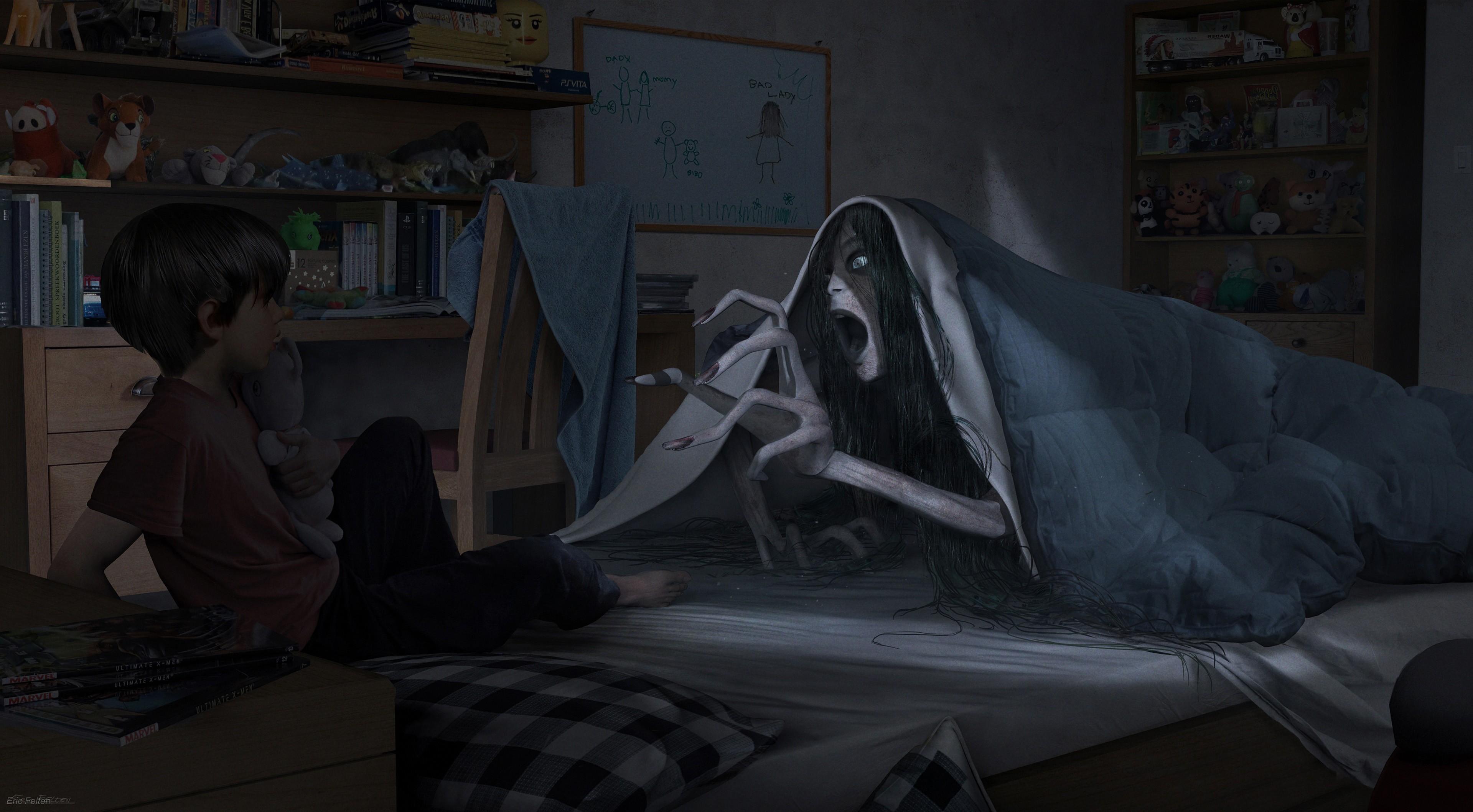 игры с картинкой призраками всей