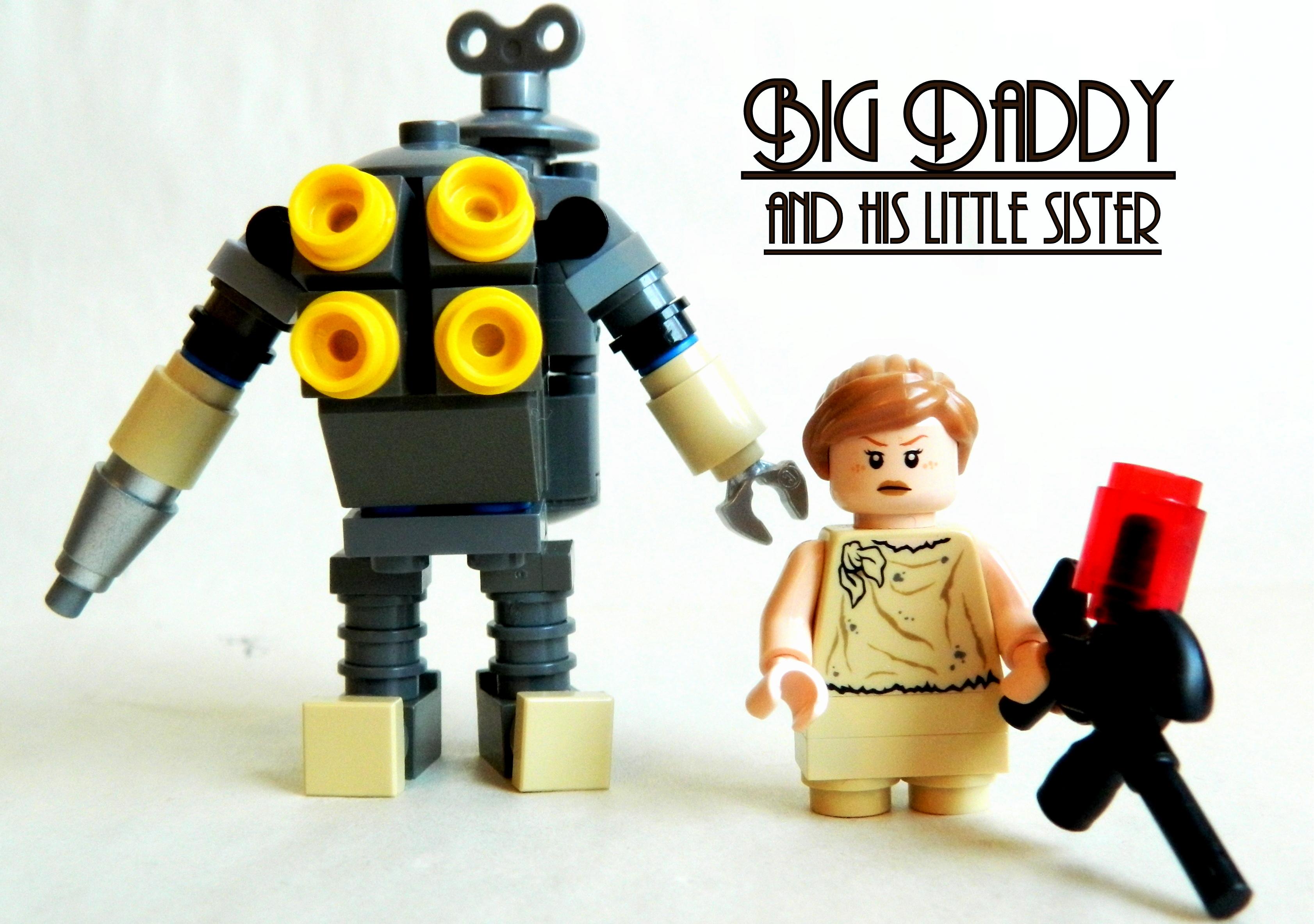 Wallpaper Horror Robot Lego Steampunk Technology Bioshock