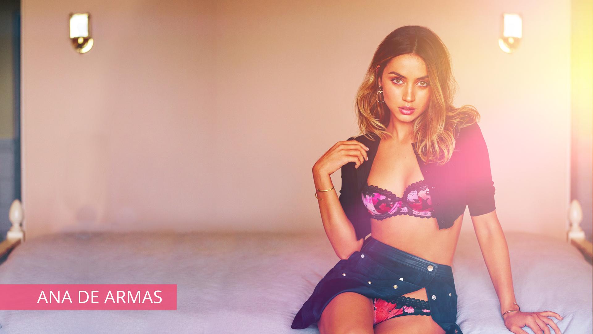 Ana De Armas Boobs wallpaper : hot, woman, sexy, lingerie, underwear, actress