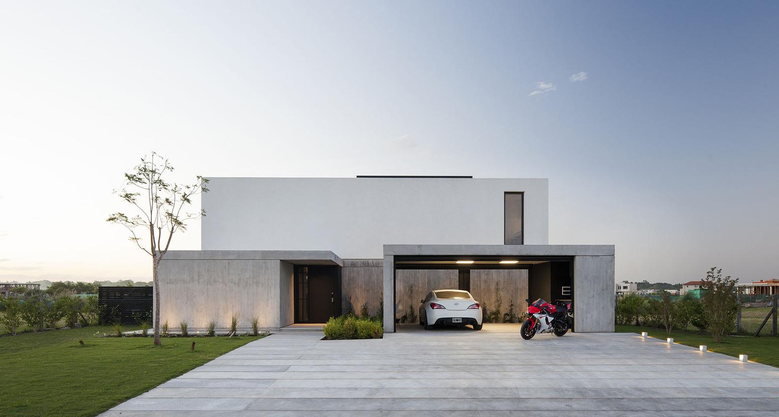 Rørig Baggrunde : hus, arkitektur, luksushuse, moderne, bil, Garage FV-93