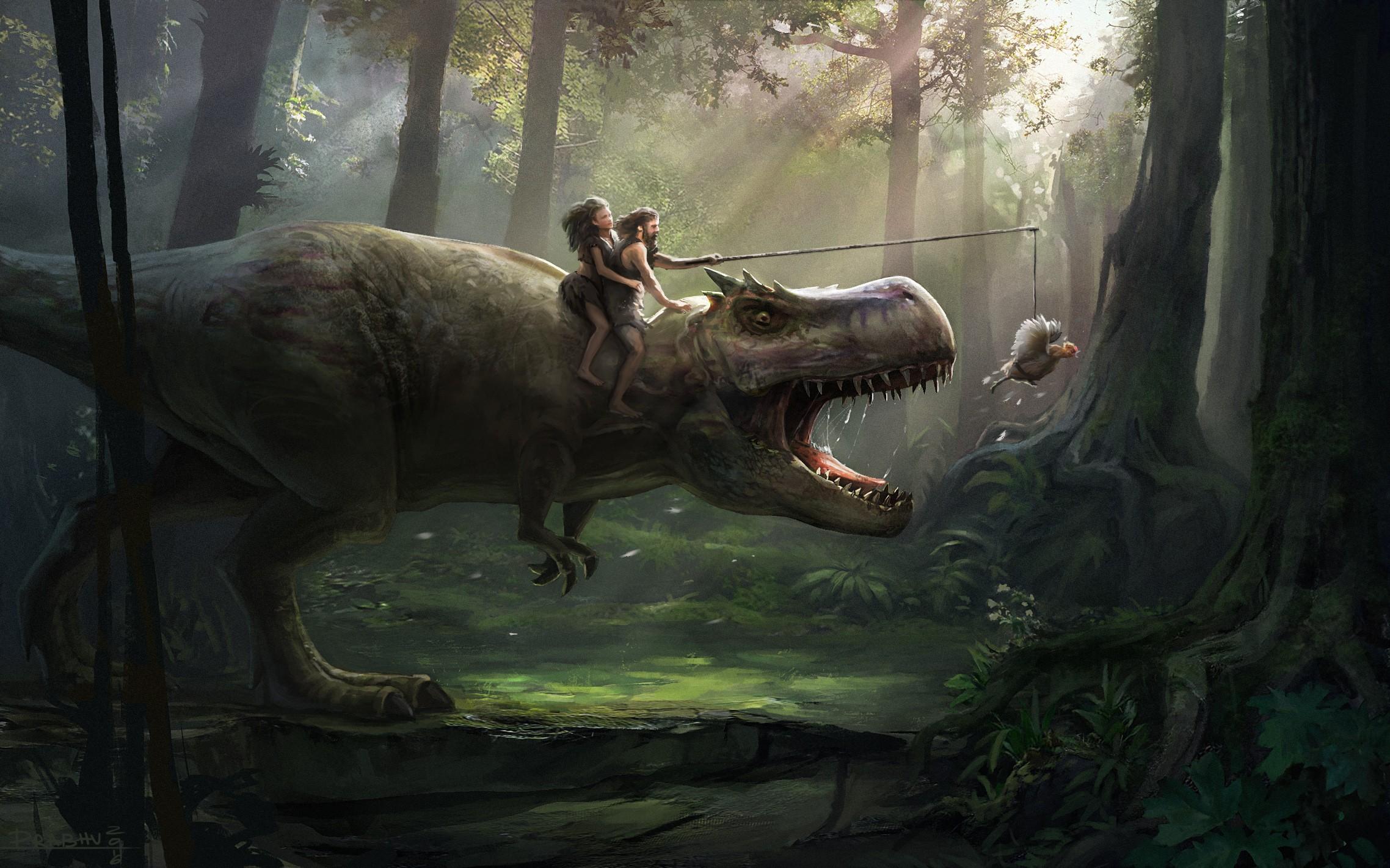 fond d 39 cran humour jungle pr historique t rex faune dinosaure capture d 39 cran. Black Bedroom Furniture Sets. Home Design Ideas