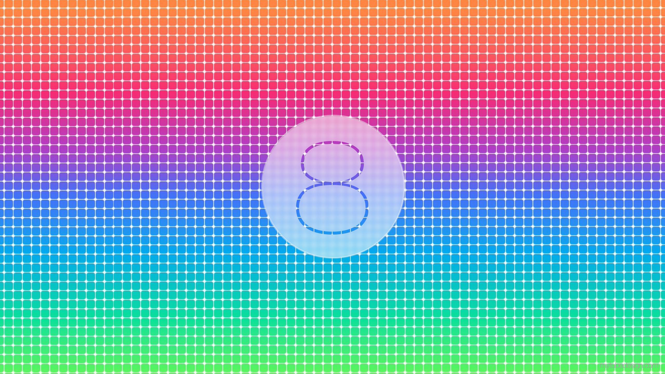 Wallpaper Ios 8 Apple Iphone Ipad 2560x1440