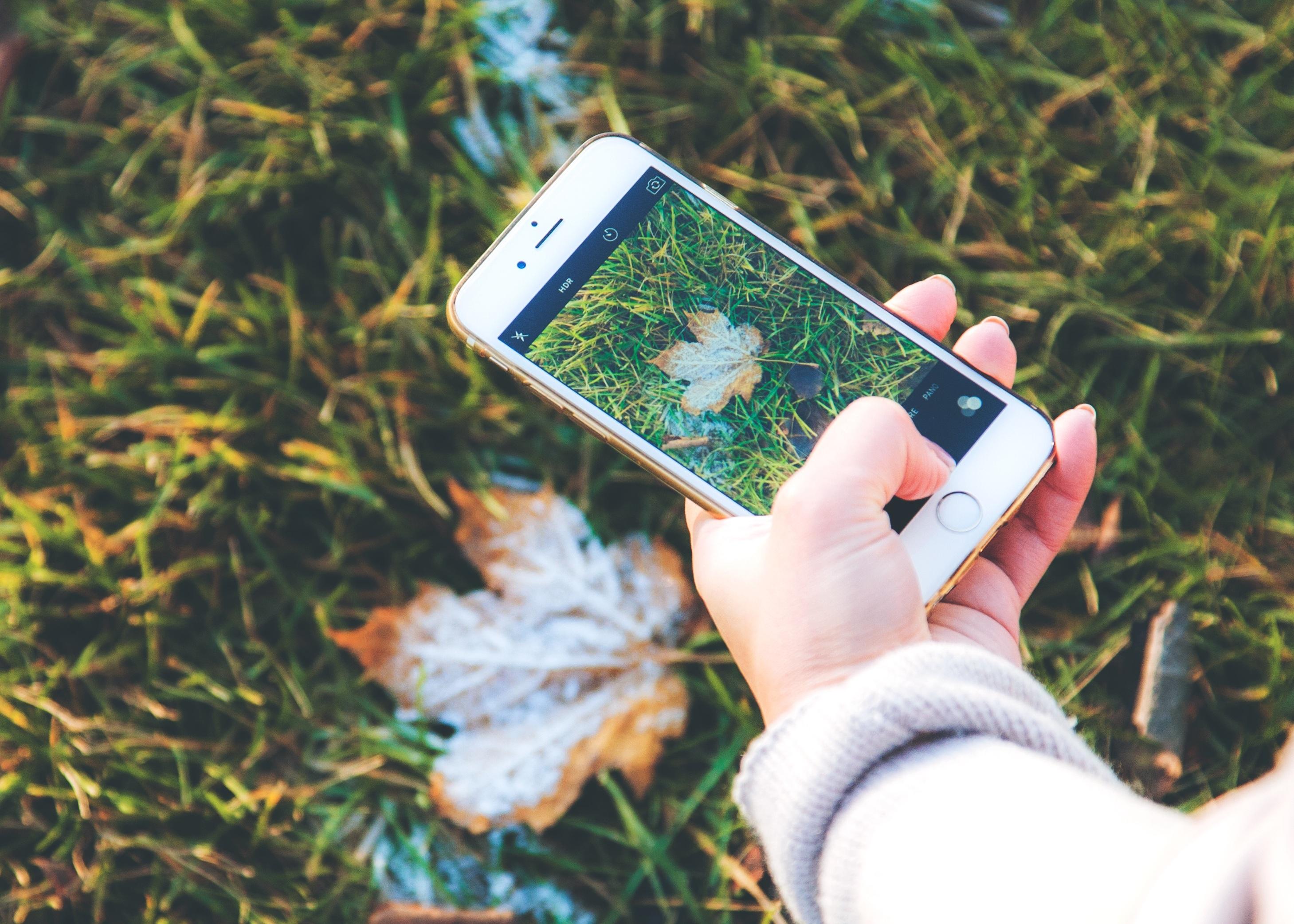Как сделать фотку для айфона