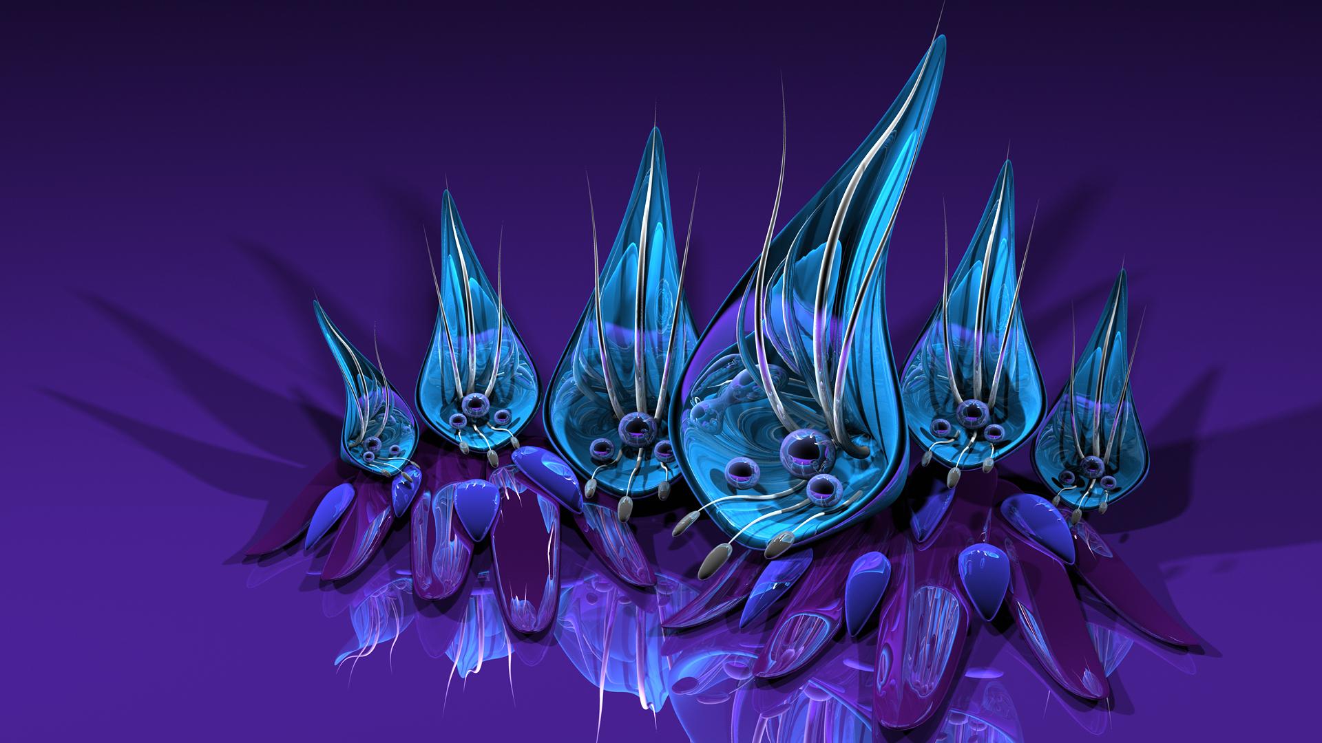 Fond Décran Illustration 3d Espace Dragon Fleur