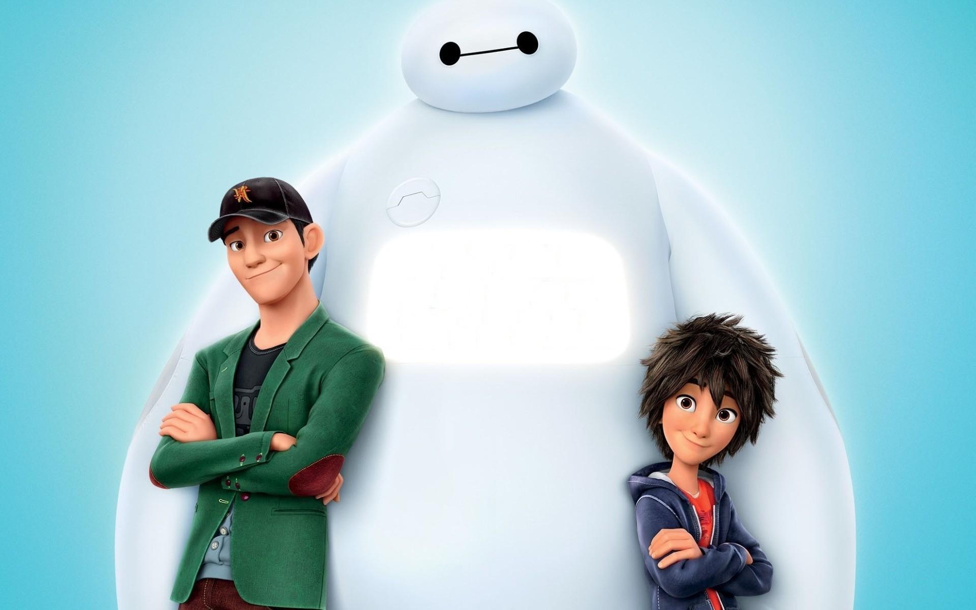 Illustration Baymax Big Hero 6 Animated Movies Disney Person Play Hiro Hamada