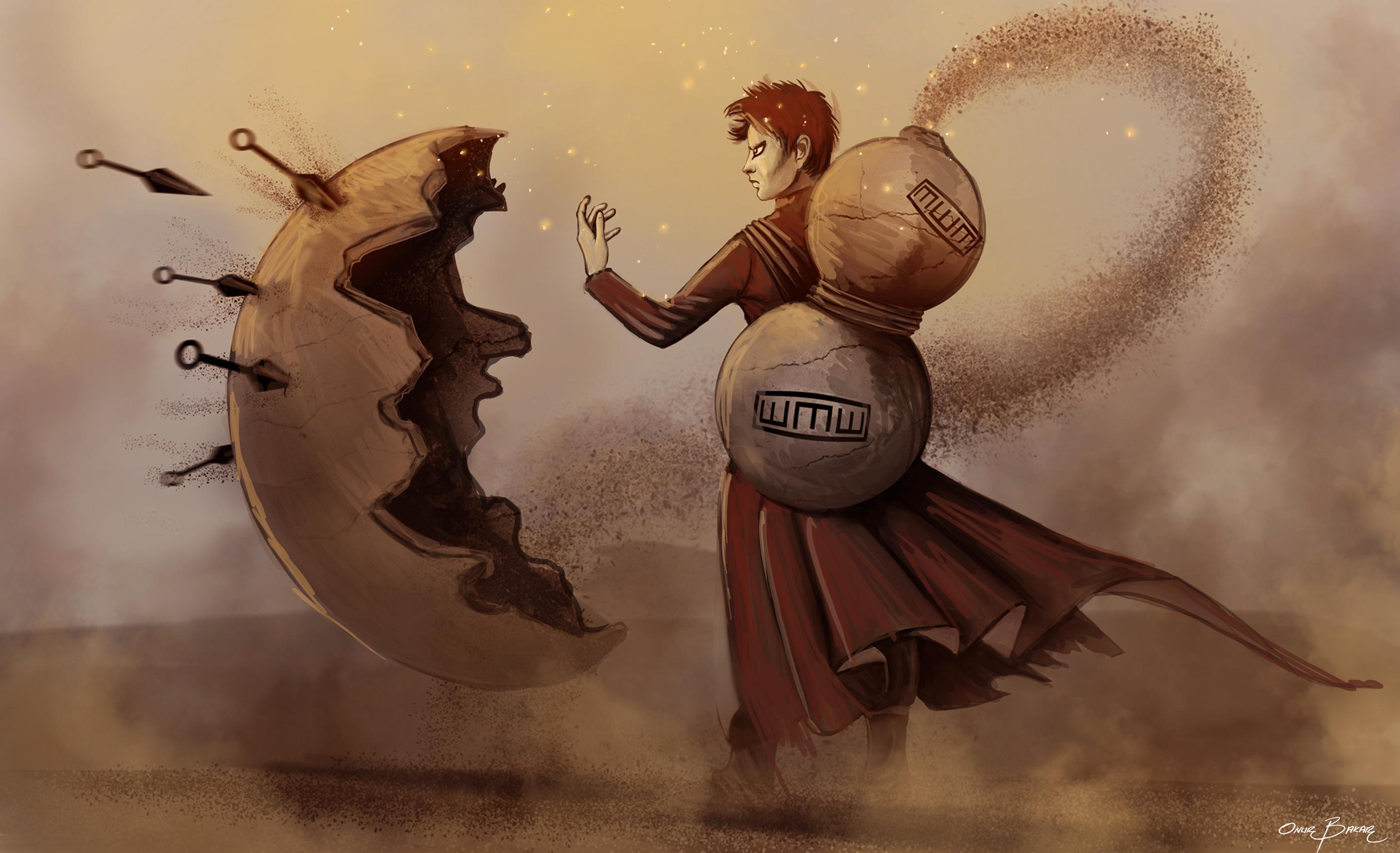 Fondos De Pantalla Ilustración Gaara Mitología Naruto