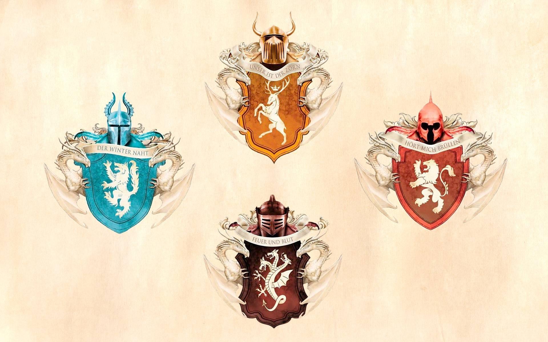 House Stark Targaryen Baratheon