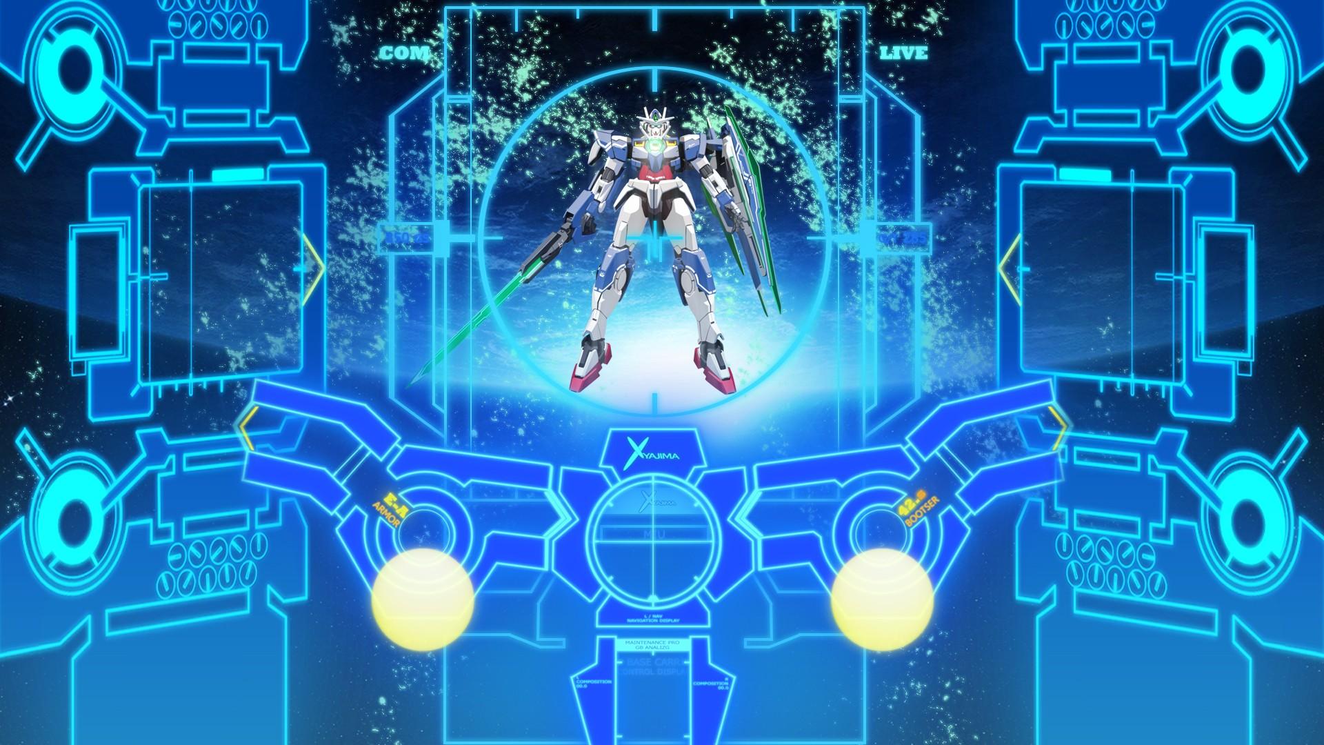 デスクトップ壁紙 図 機動戦士ガンダム00 ディスコ ガンダム