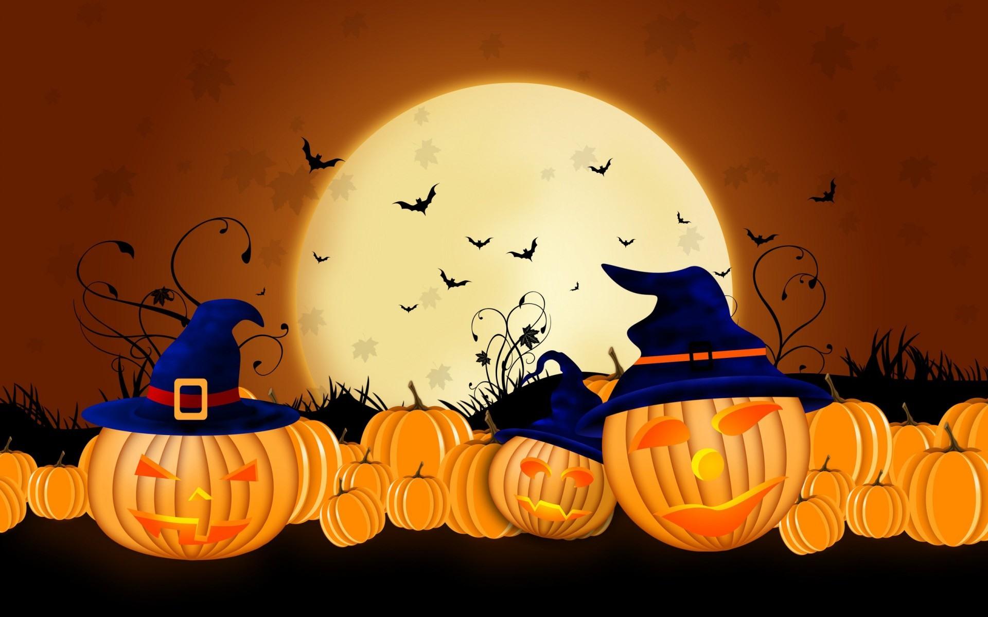 Sfondi illustrazione halloween vacanza autunno