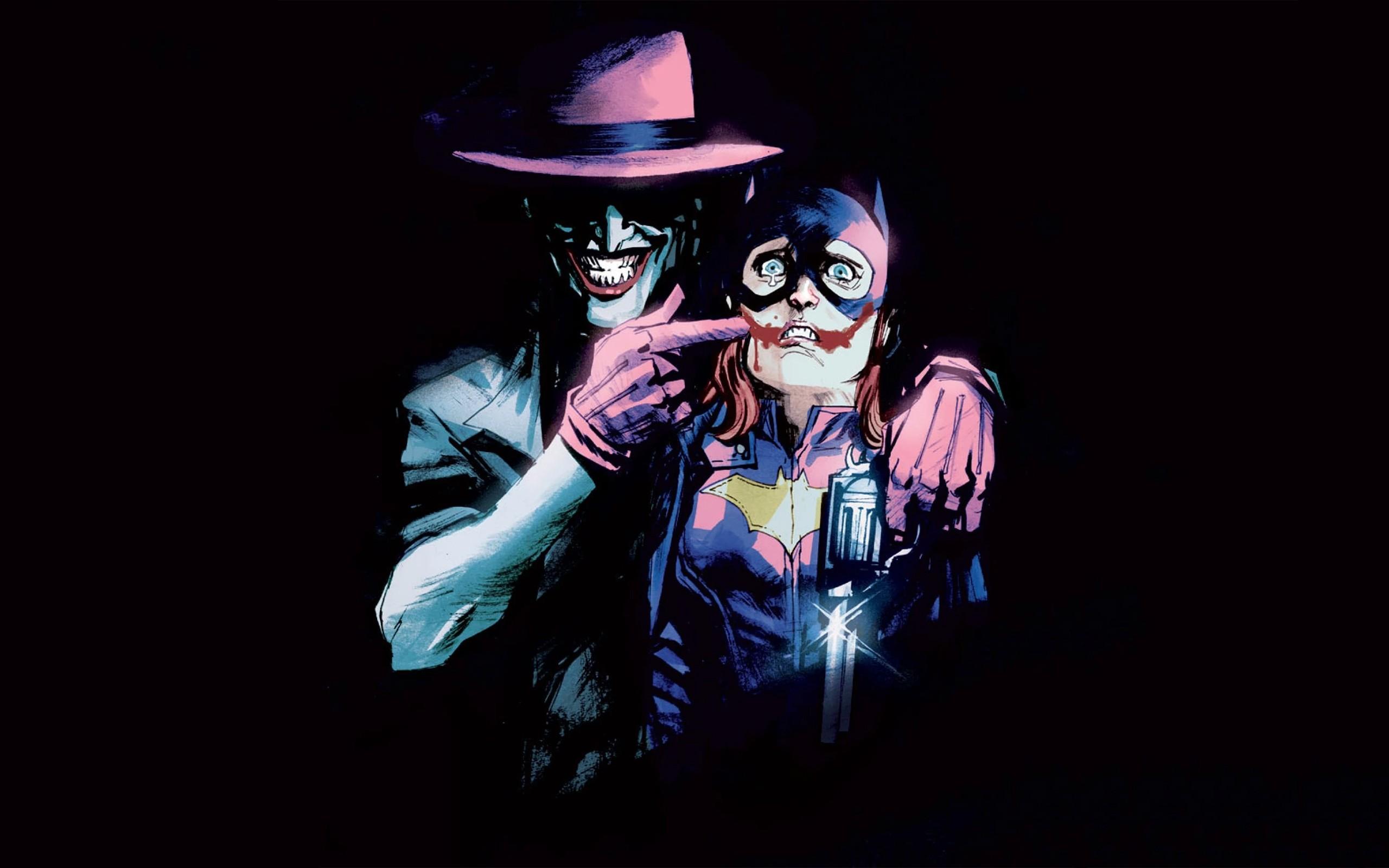 Illustration Joker DC Comics Batgirl Darkness Computer Wallpaper Musical Theatre Performing Arts