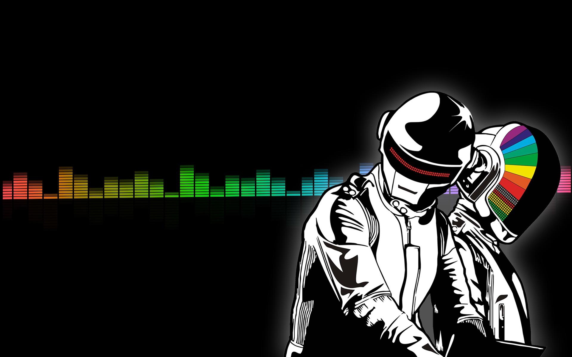 Illustration Joker Music Cartoon Dubstep DJ House Daft Punk Techno Drum And Bass Brian Dessert