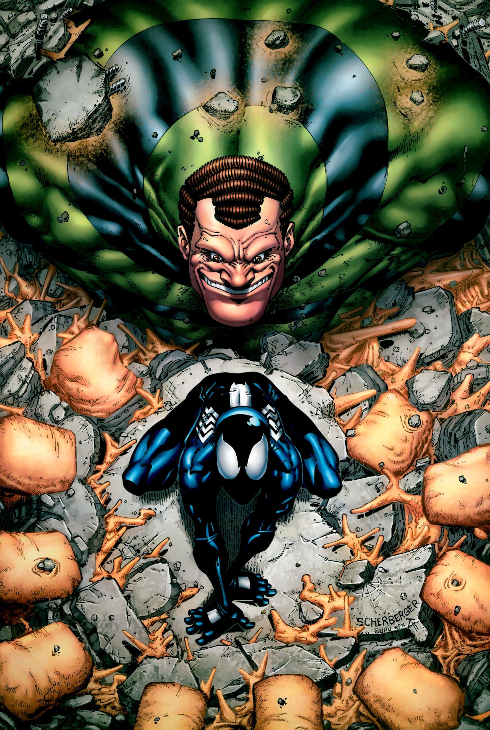 sandman spiderman comic - 700×1054