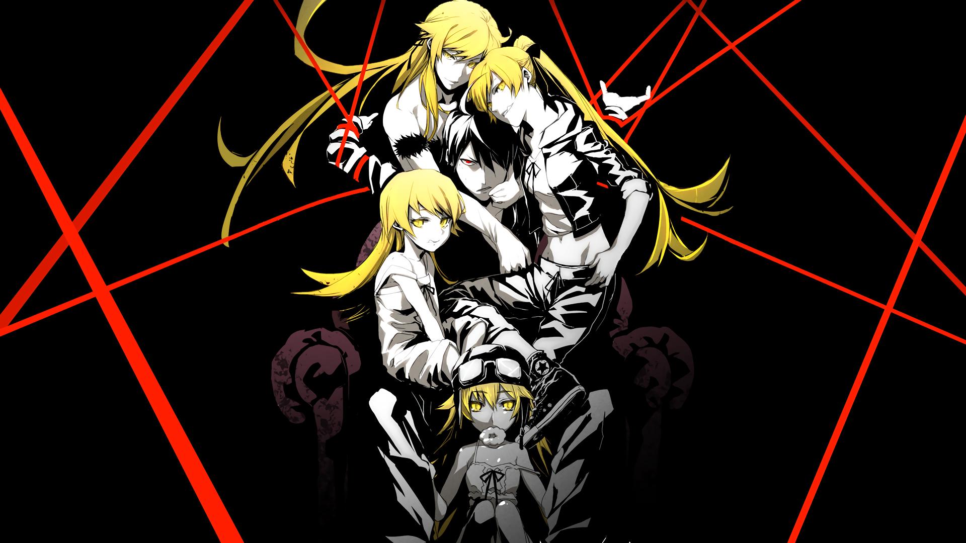 Illustration Monogatari Series Oshino Shinobu Araragi Koyomi Comics