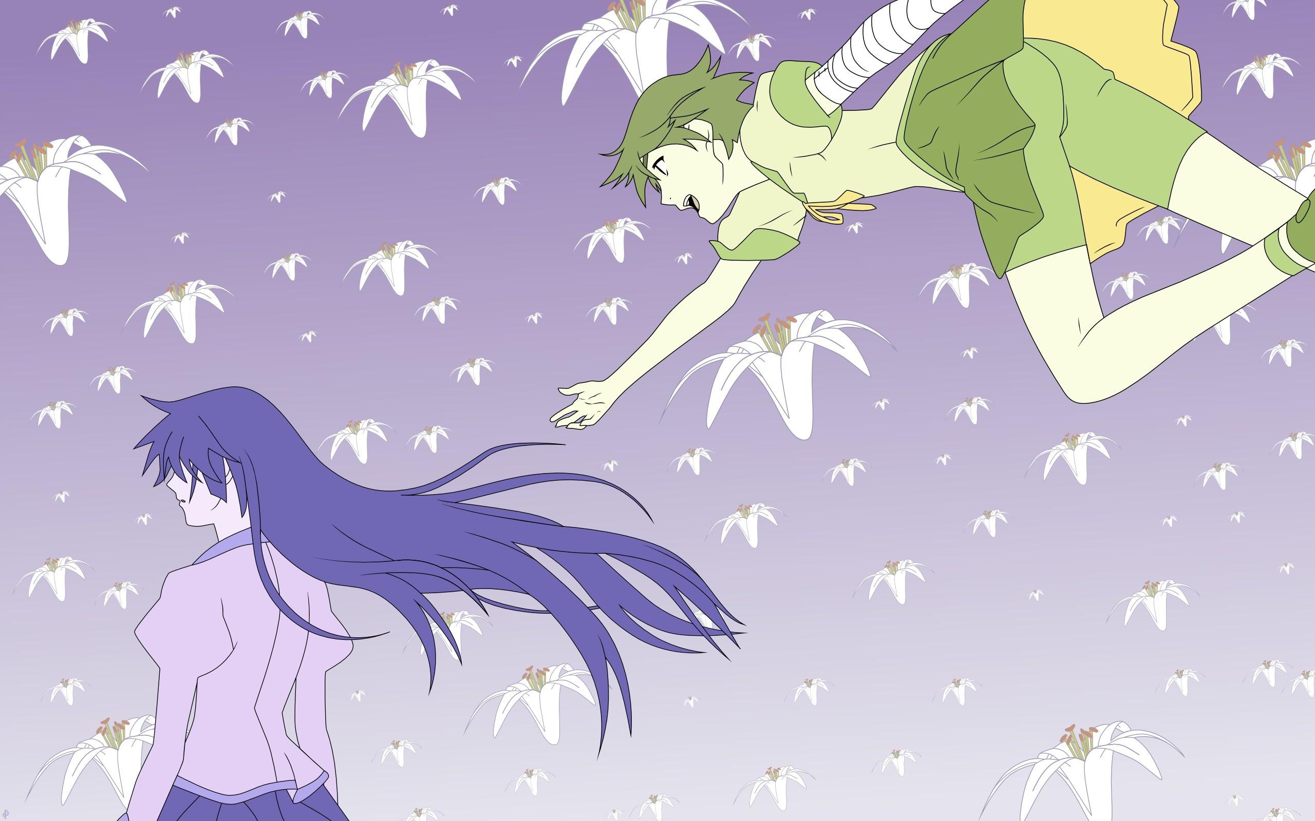Wallpaper Ilustrasi Monogatari Series Anime Gambar Kartun
