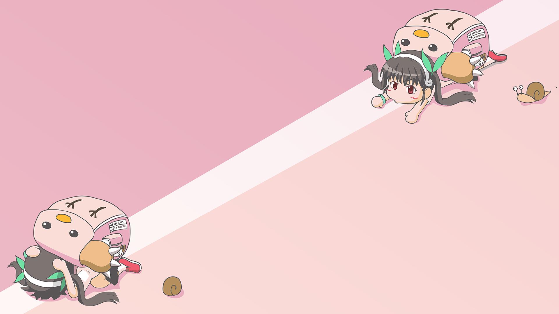 Sfondi illustrazione monogatari cartone animato hachikuji