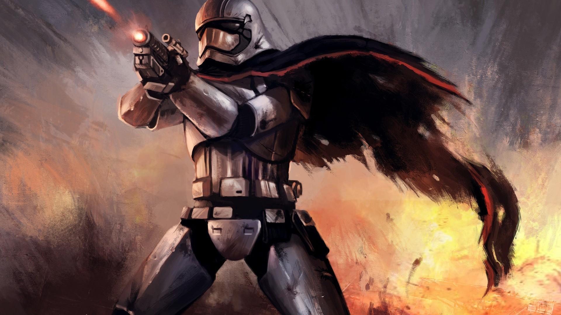 Wallpaper Illustration Star Wars Star Wars The Force Awakens