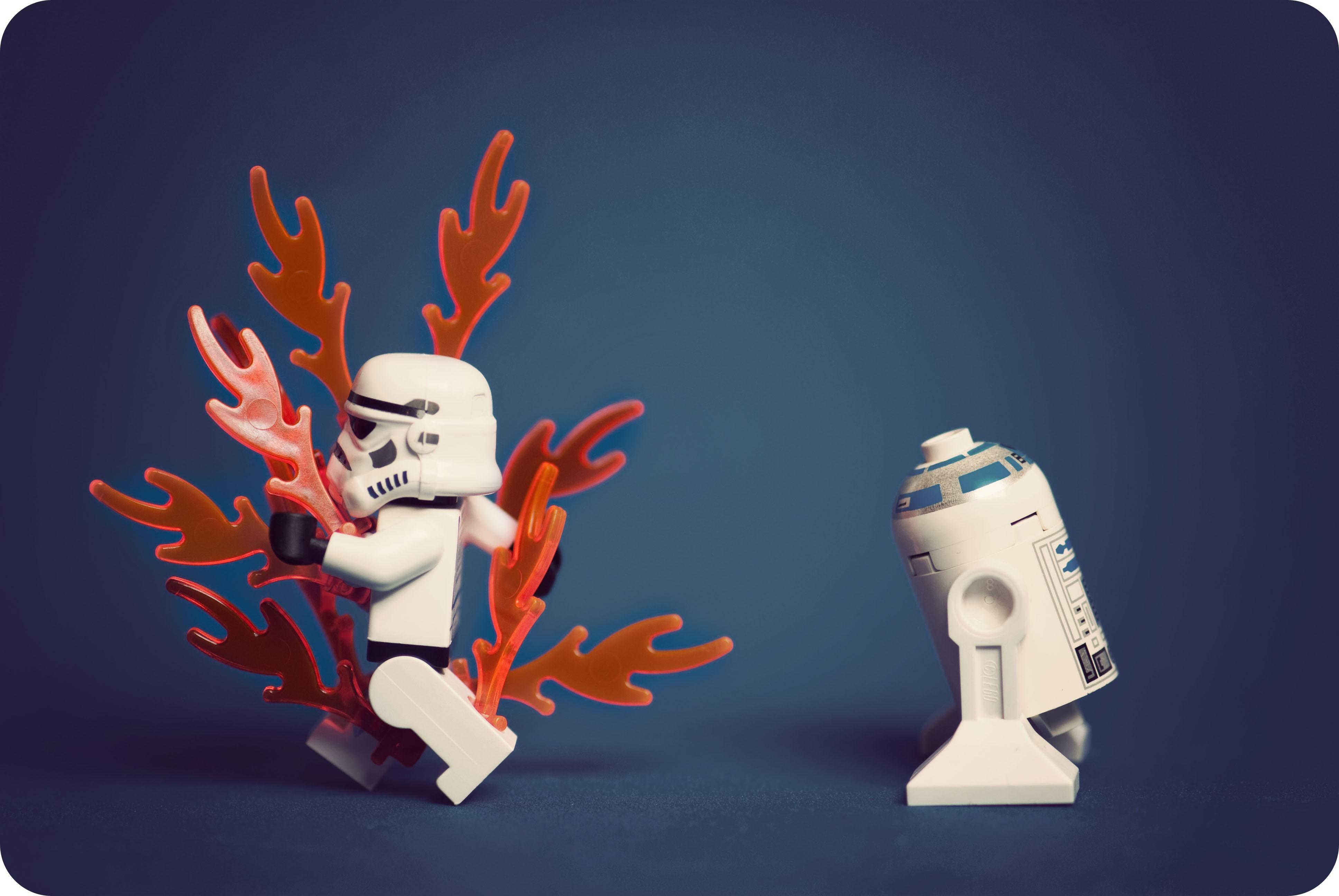 illustration Star Wars cartoon LEGO stormtrooper ART hand