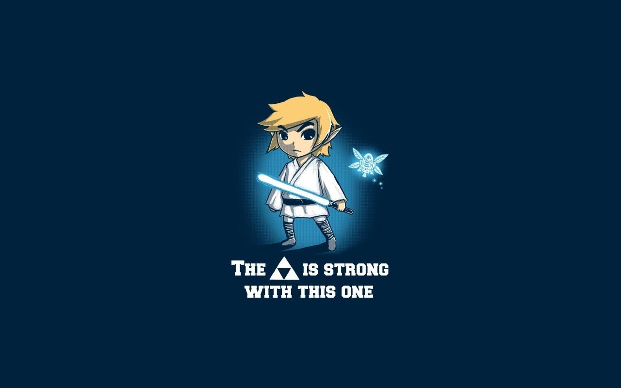 Illustration Star Wars Sky Artwork Text Logo Blue Cartoon Graphic Design Brand Zelda ART Darkness Screenshot