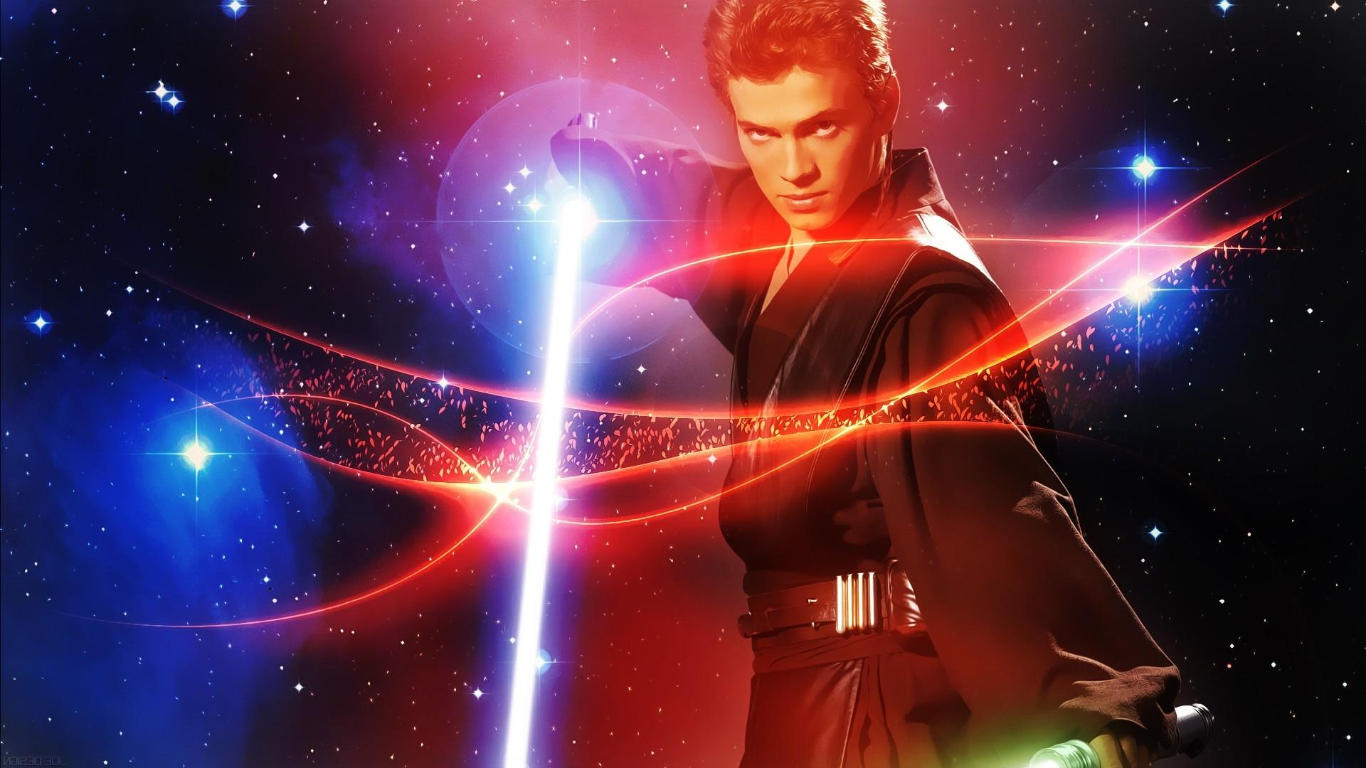 Illustration Star Wars Space Movies Universe Anakin Skywalker Screenshot 1920x1080 Px Computer Wallpaper Special Effects