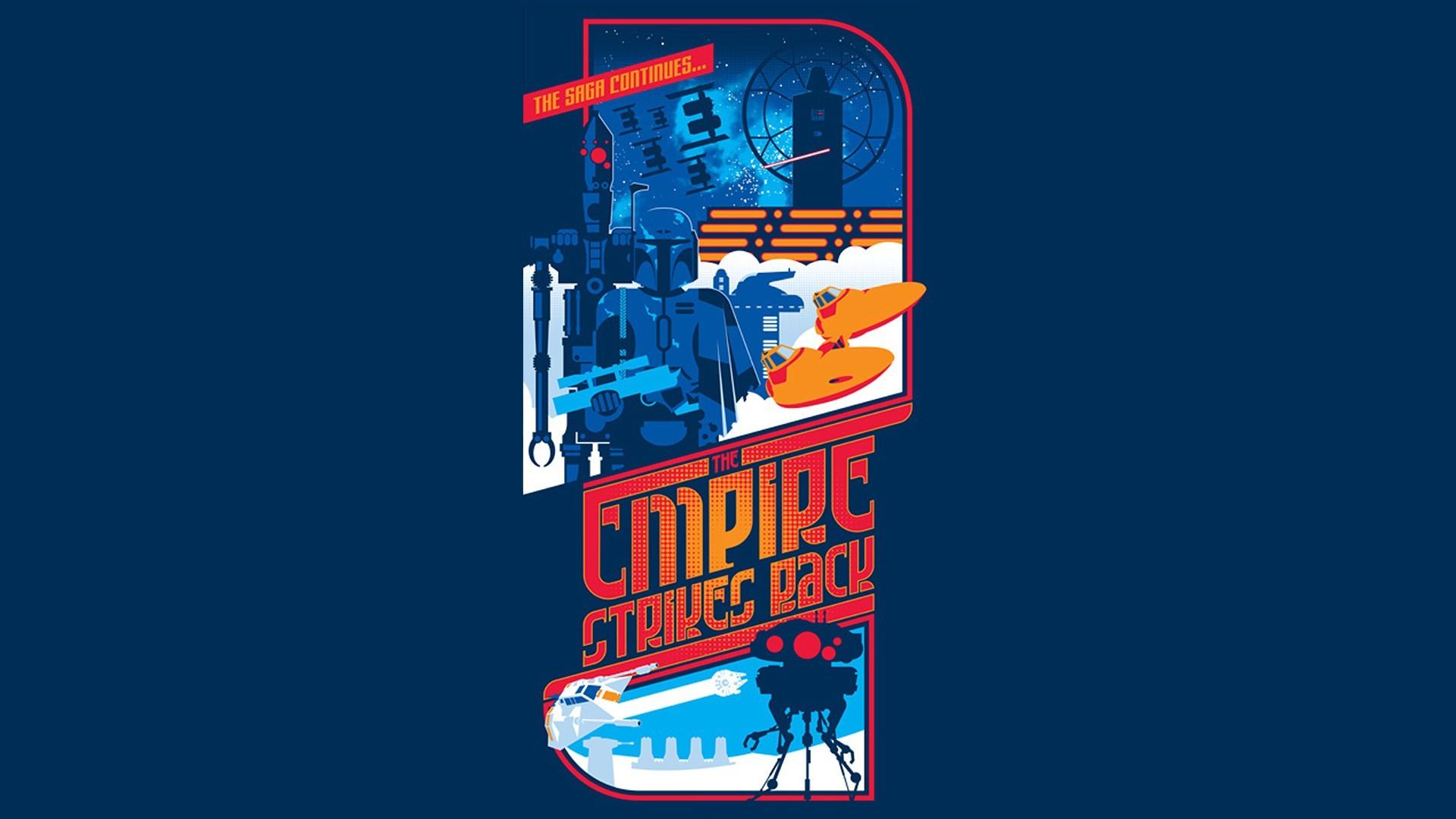 Wallpaper Illustration Star Wars Text Cartoon Graphic Design