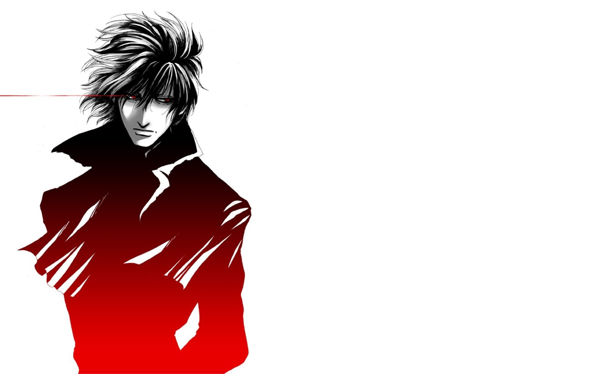 Wallpaper Ilustrasi T Shirt Anime Hellsing Alucard Gambar