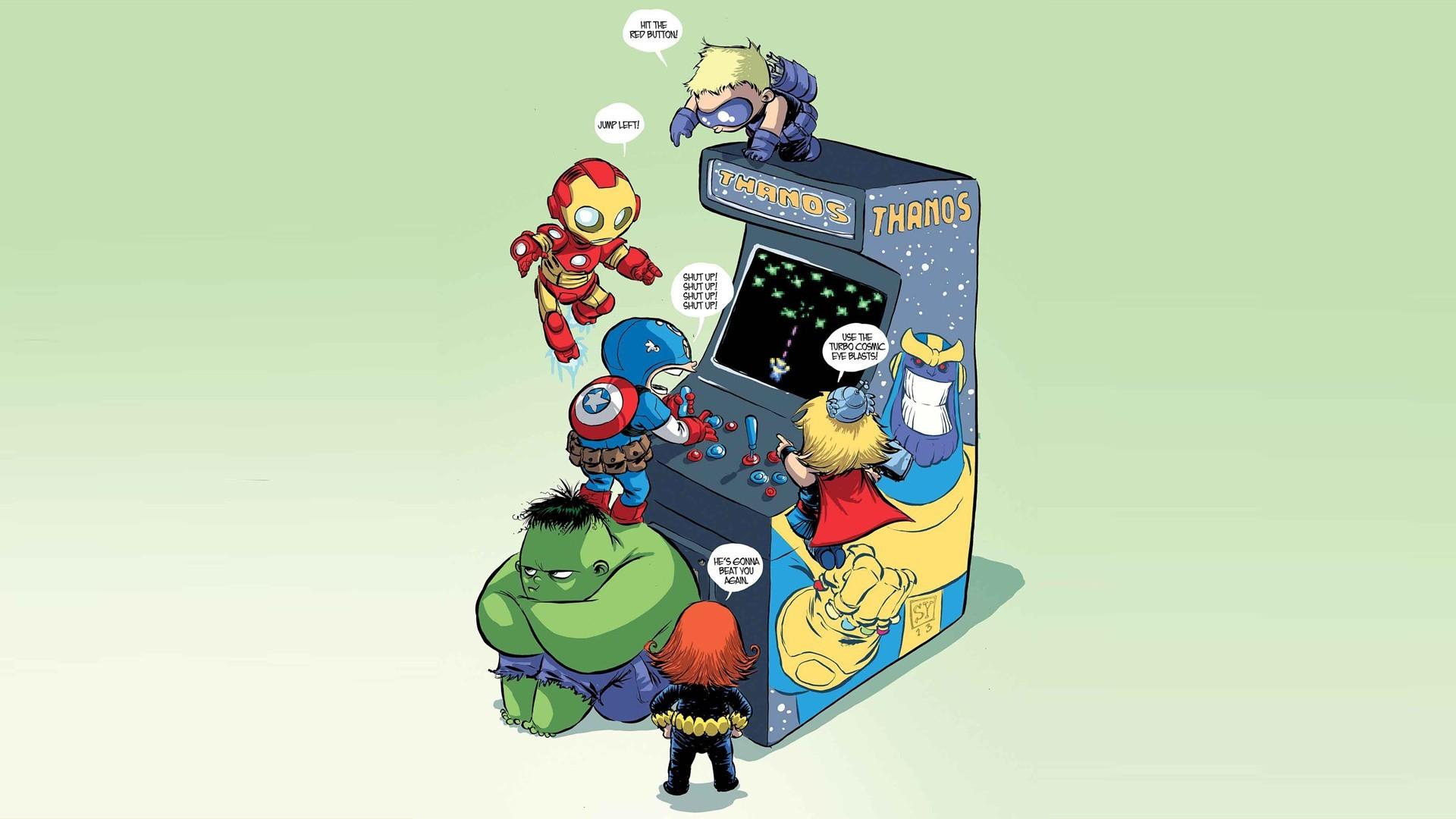 Sfondi illustrazione thor film cartone animato marvel comics