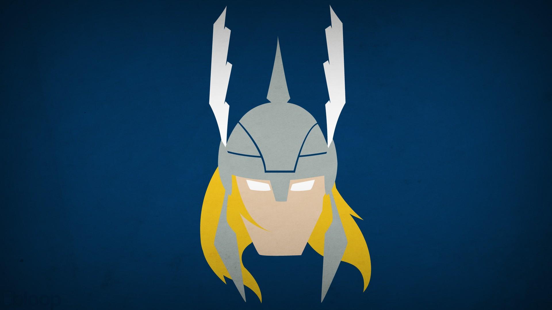 Beautiful Wallpaper Marvel Simple - illustration-Thor-simple-background-minimalism-blue-background-blue-cartoon-helmet-hero-superhero-Marvel-Comics-Blo0p-hand-wing-screenshot-computer-wallpaper-219398  Picture_194758.jpg