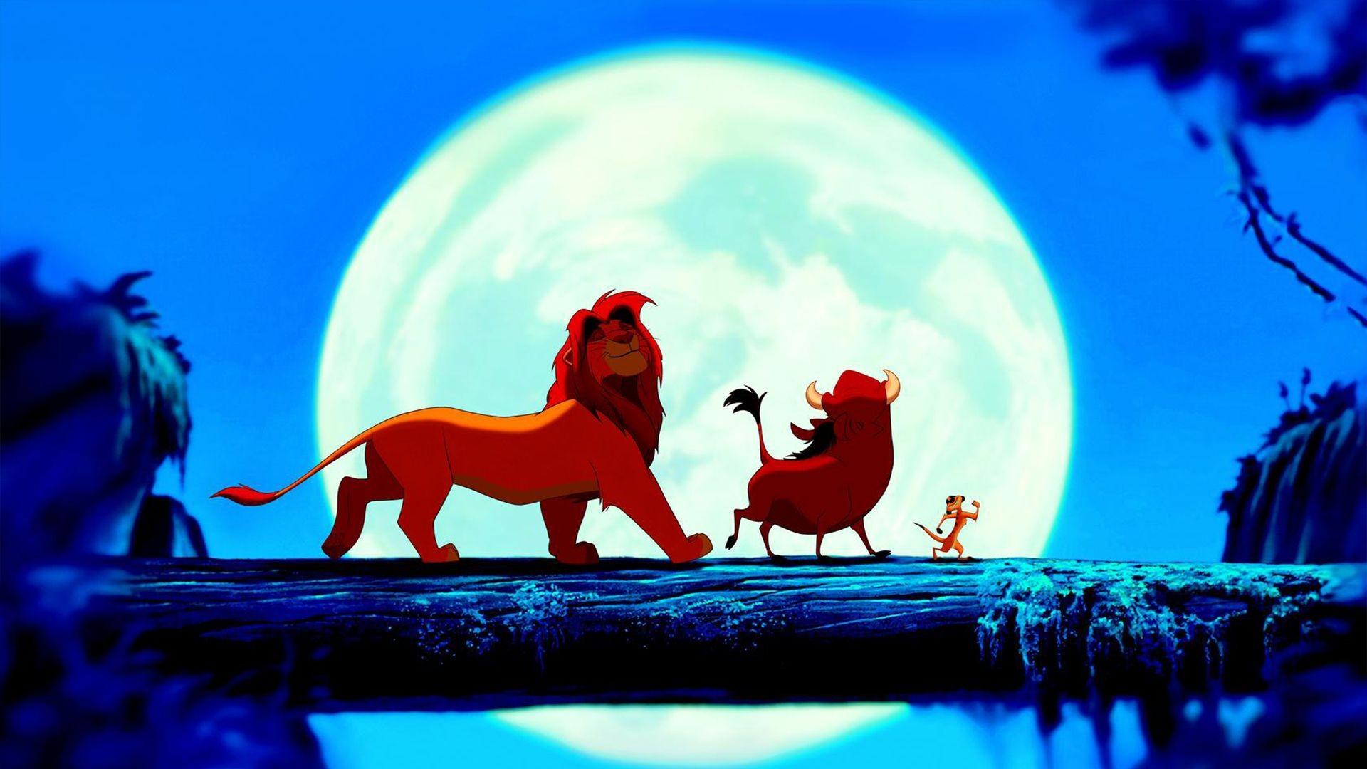 Fond D écran Illustration Walt Disney Simba Le Roi Lion
