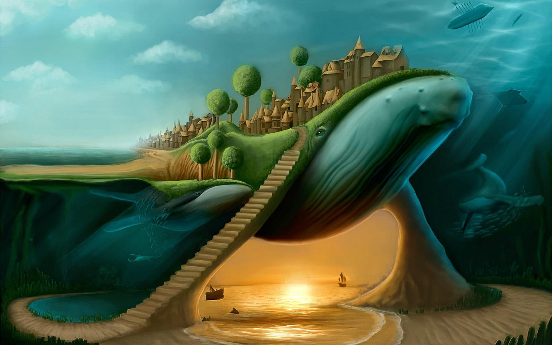 Картинки с воображением по окружающему миру