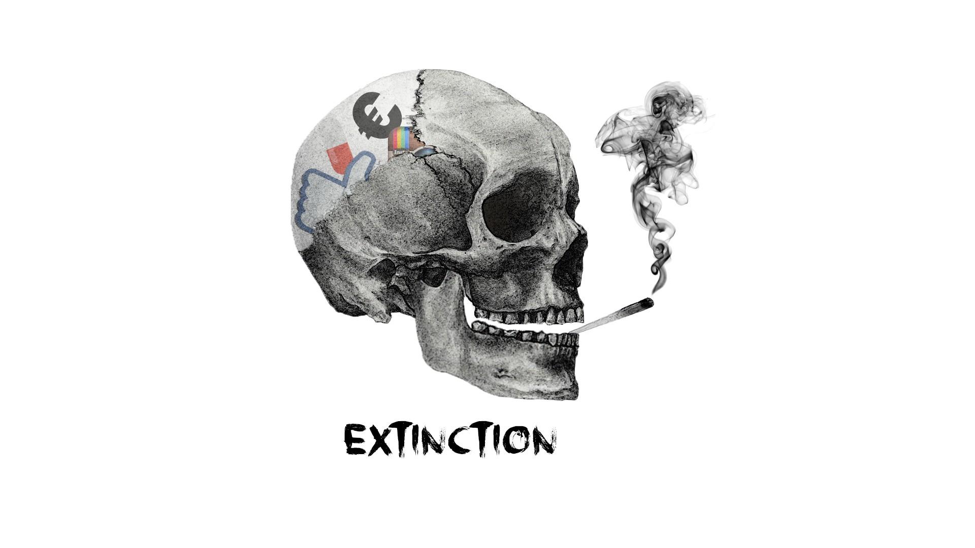 Hintergrundbilder : Illustration, abstrakt, Rauch, einfach, Schädel ...