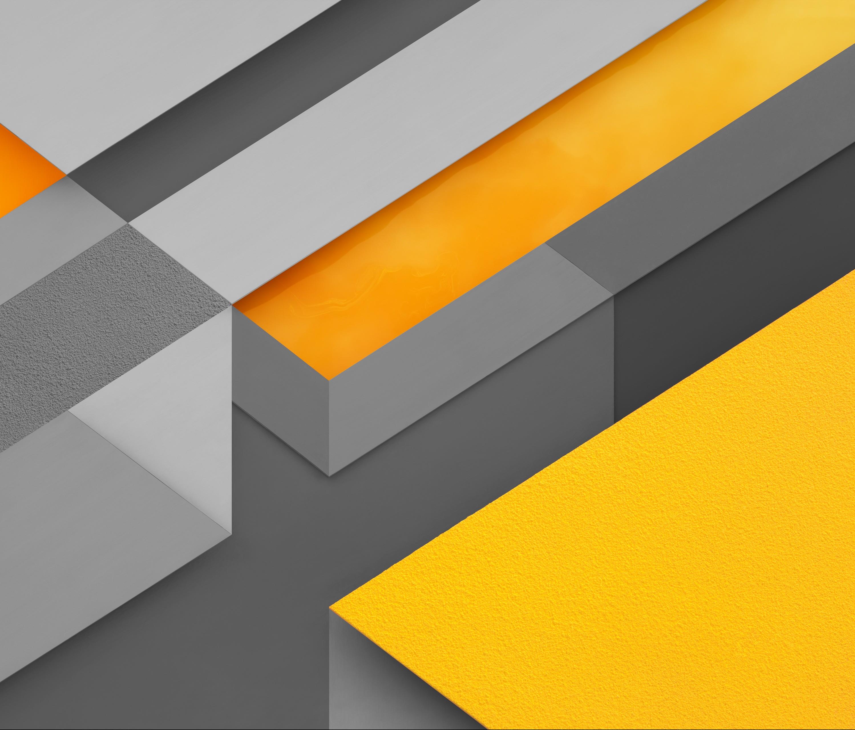 Wallpaper Illustration Abstract Yellow Pattern Orange