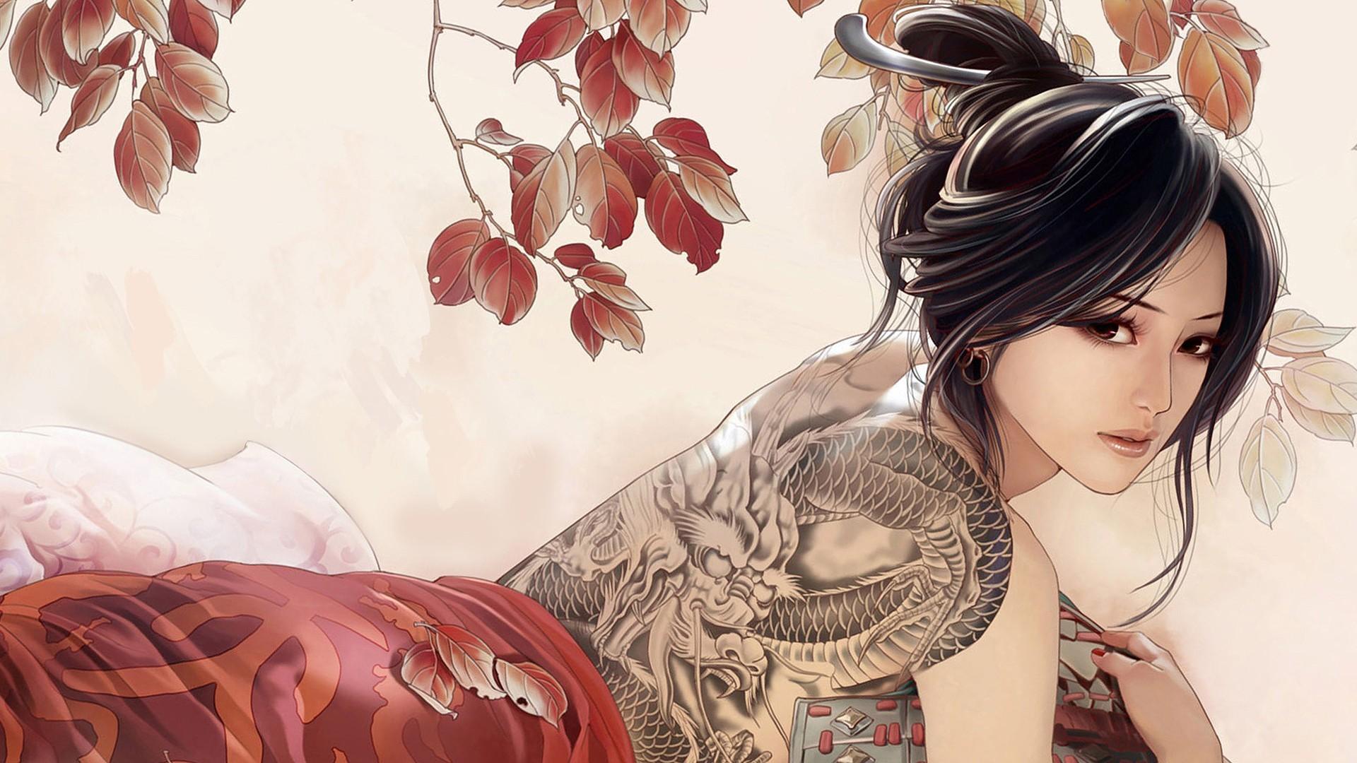 Обои на рабочий стол на тему татуировки