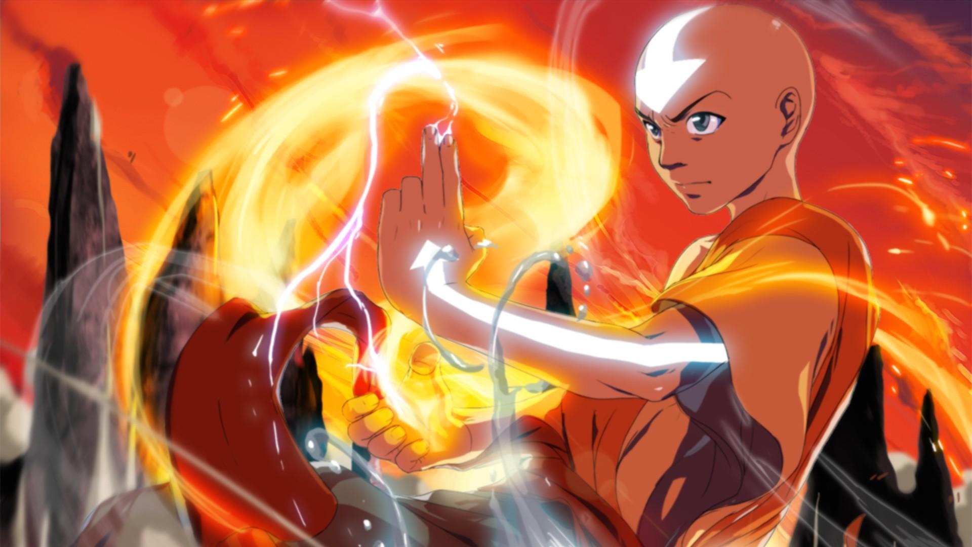 Illustration Anime Avatar The Last Airbender Aang Games Screenshot 1920x1080 Px Computer Wallpaper