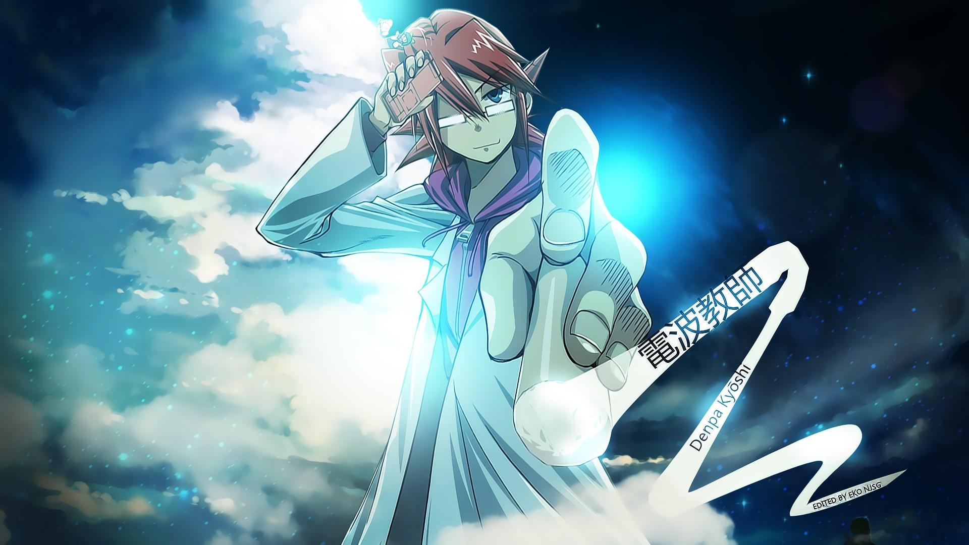 Wallpaper Illustration Anime Denpa Ky Shi Kagami Jun Ichir