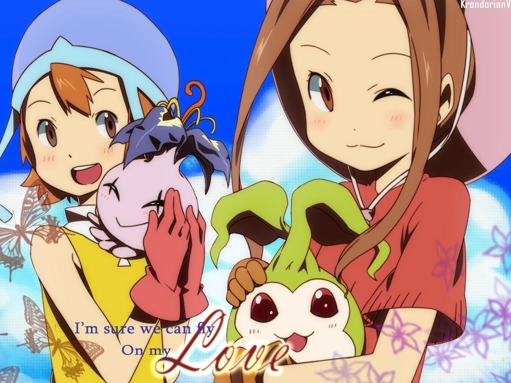 「Digimon Koushiro & Mimi Forever 」おしゃれまとめの人気アイデア|Pinterest