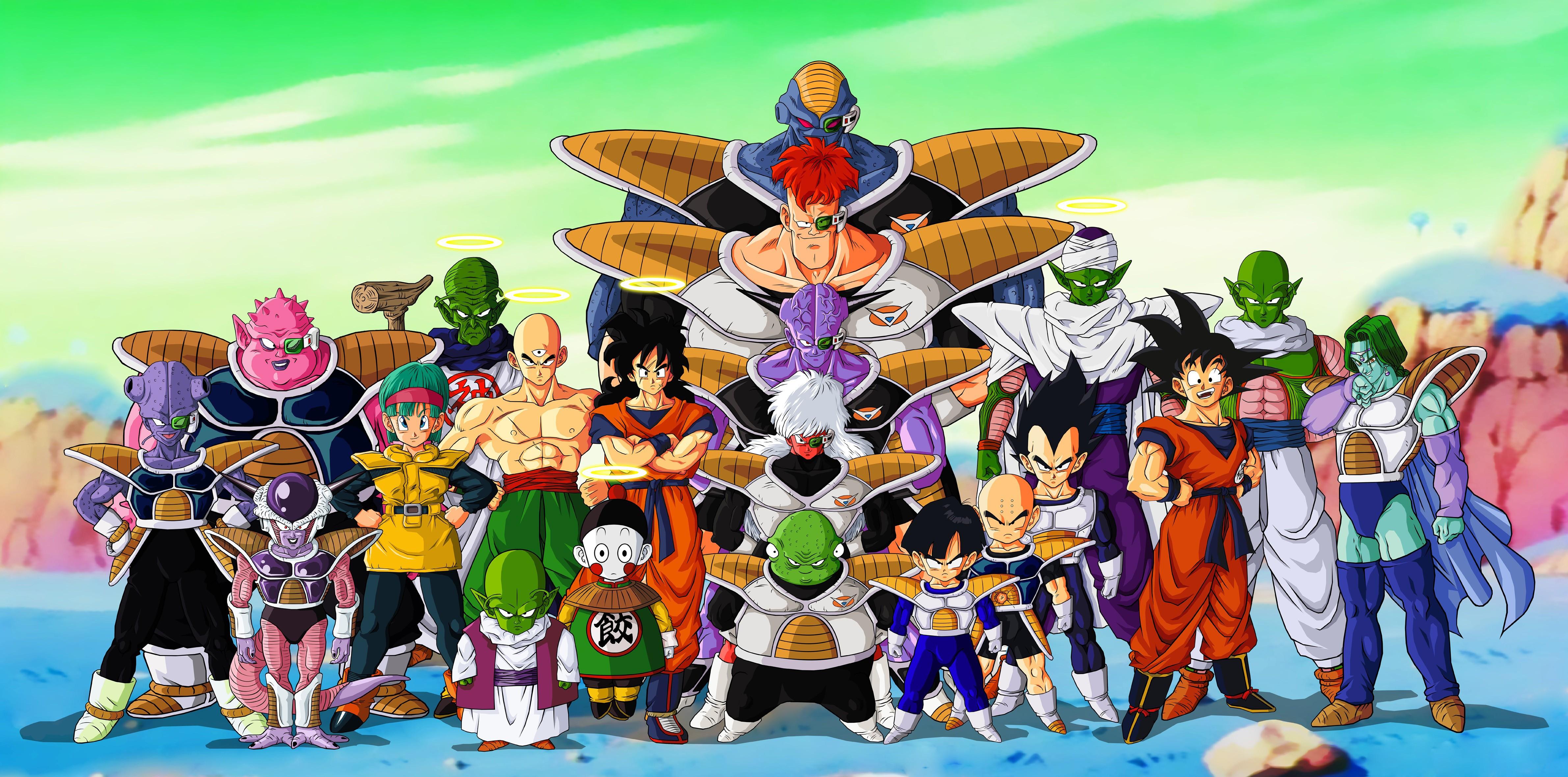 hình minh họa Anime Ngọc rồng bảy viên ngọc rông Ảnh chụp màn hình Nhà hát