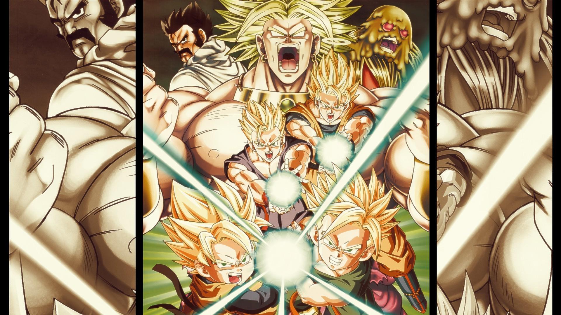 Illustration Anime Dragon Ball Gohan Comics Mythology Trunks Character Kamehameha Son Goten Broly 1920x1080 Px Comic
