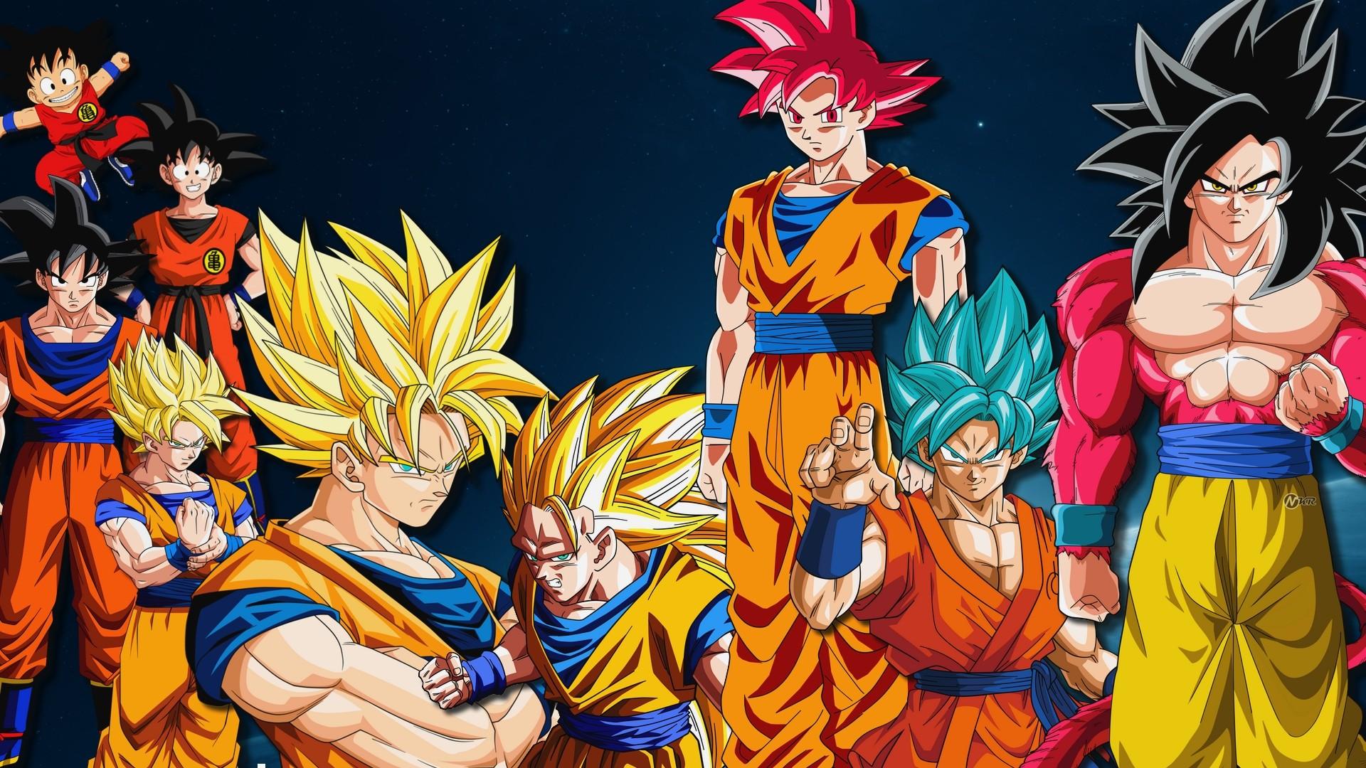 Wallpaper Illustration Anime Dragon Ball Son Goku