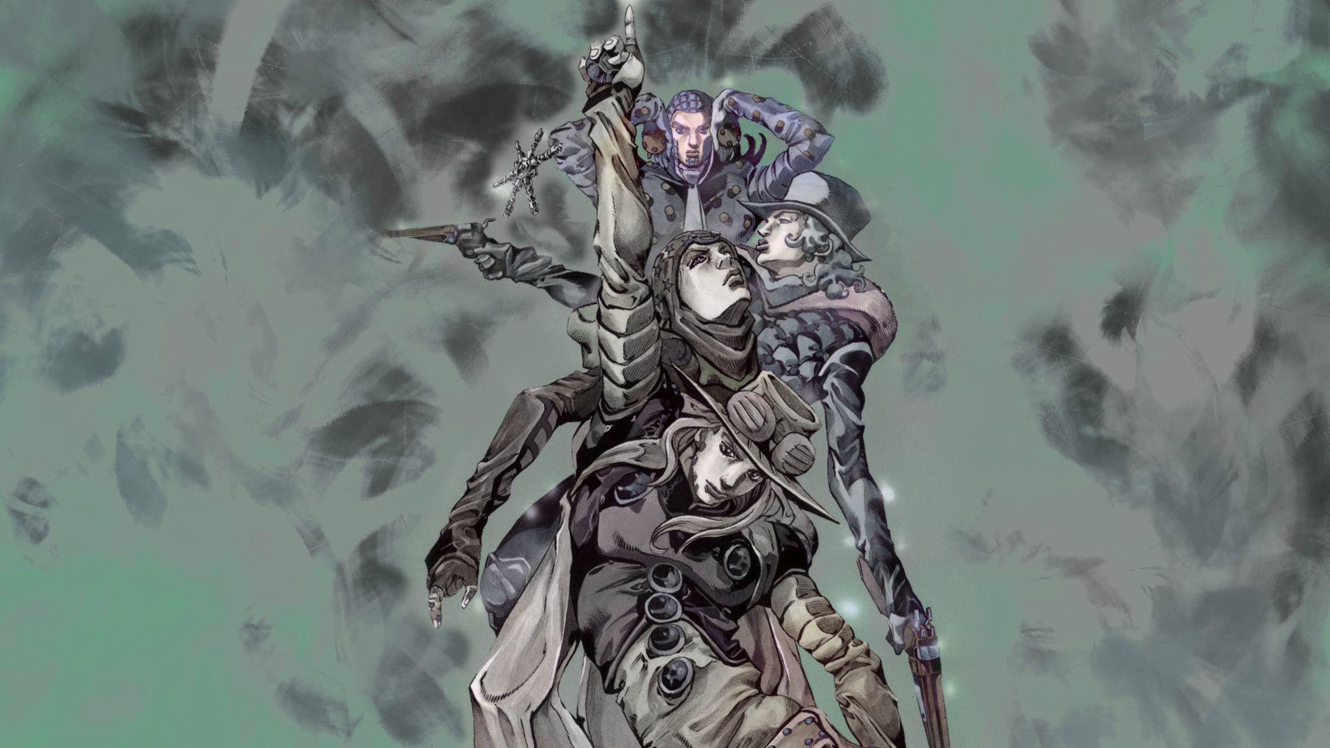 Wallpaper : illustration, anime, JoJo's Bizarre Adventure